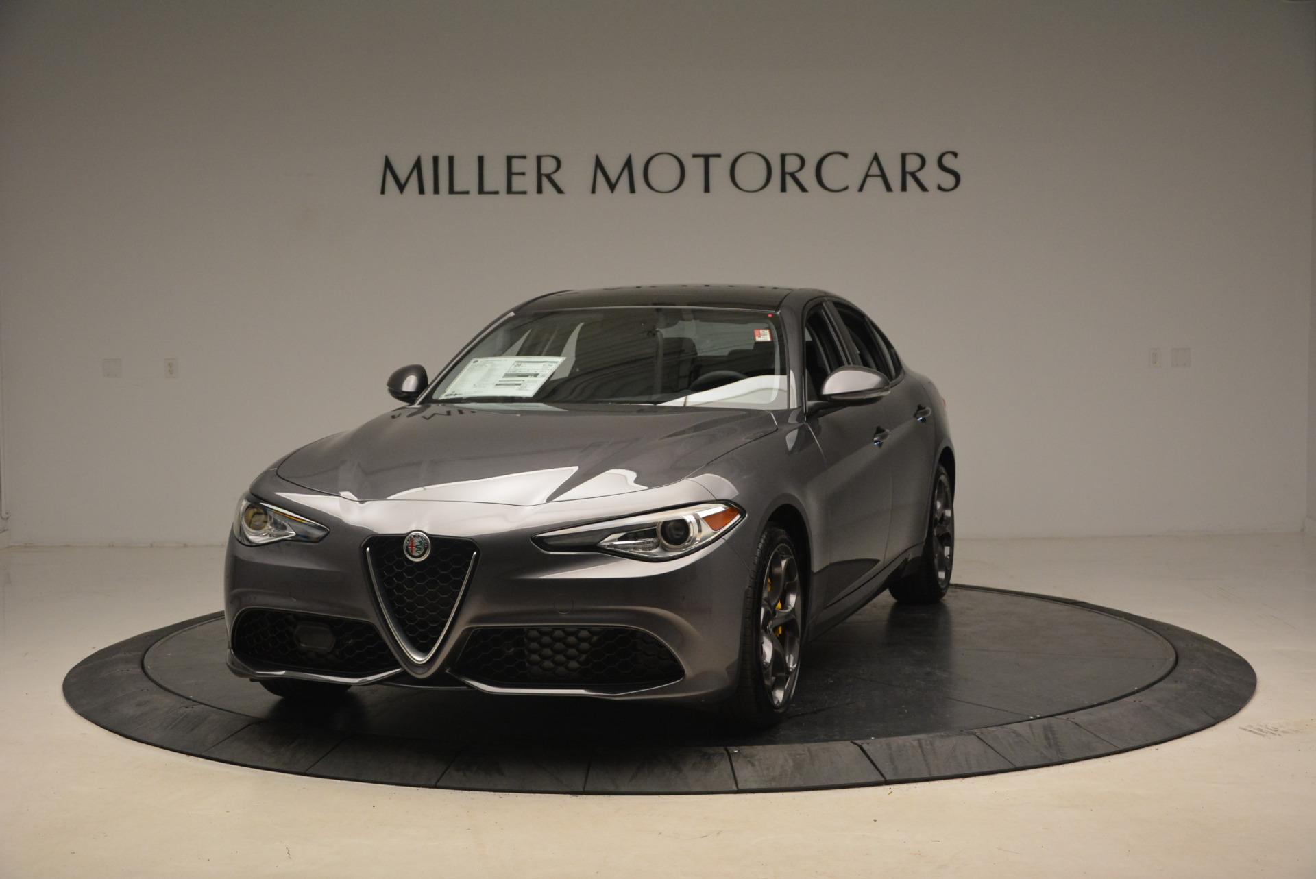 New 2018 Alfa Romeo Giulia Ti Sport Q4 For Sale In Greenwich, CT. Alfa Romeo of Greenwich, L272 1723_main