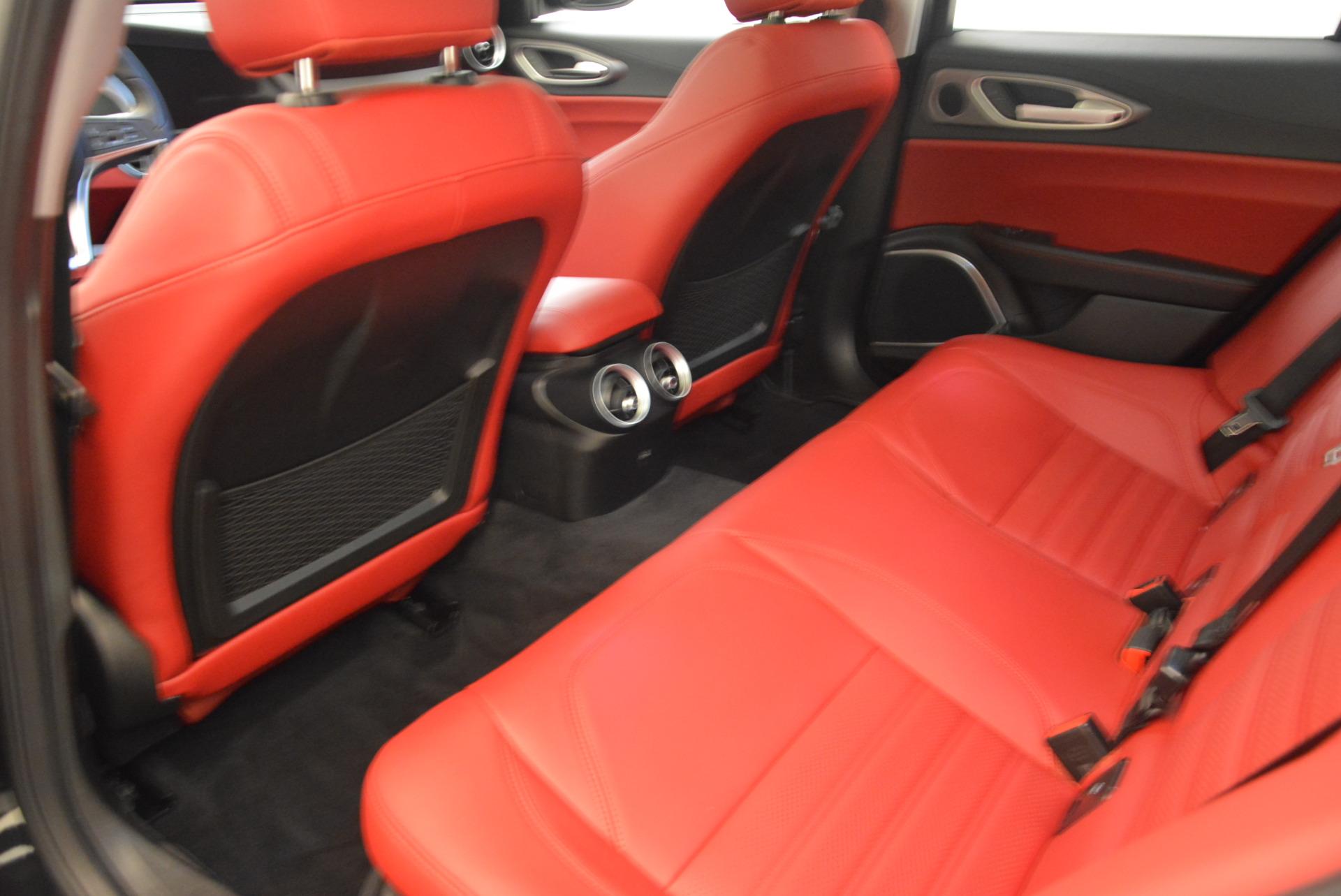 New 2018 Alfa Romeo Giulia Ti Sport Q4 For Sale In Greenwich, CT. Alfa Romeo of Greenwich, L273 1724_p16