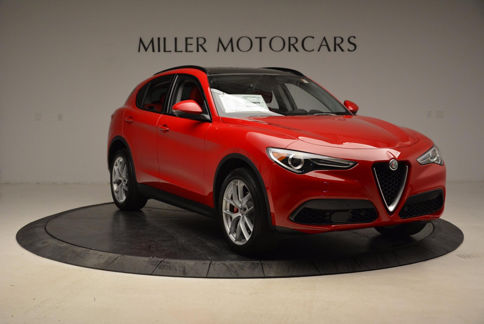 New 2018 Alfa Romeo Stelvio Sport Q4 For Sale In Greenwich, CT. Alfa Romeo of Greenwich, L274 1725_p11