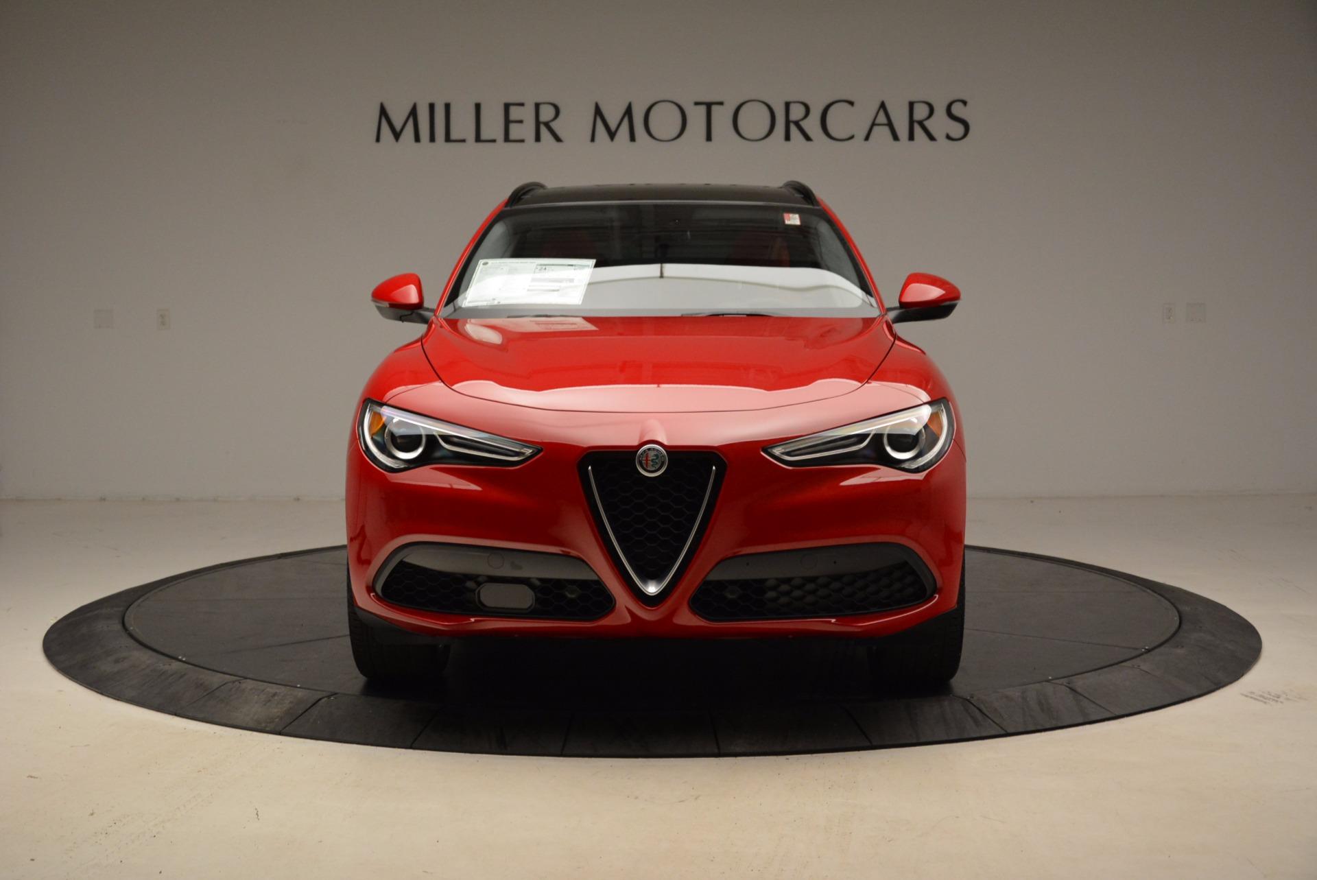 New 2018 Alfa Romeo Stelvio Sport Q4 For Sale In Greenwich, CT. Alfa Romeo of Greenwich, L274 1725_p12