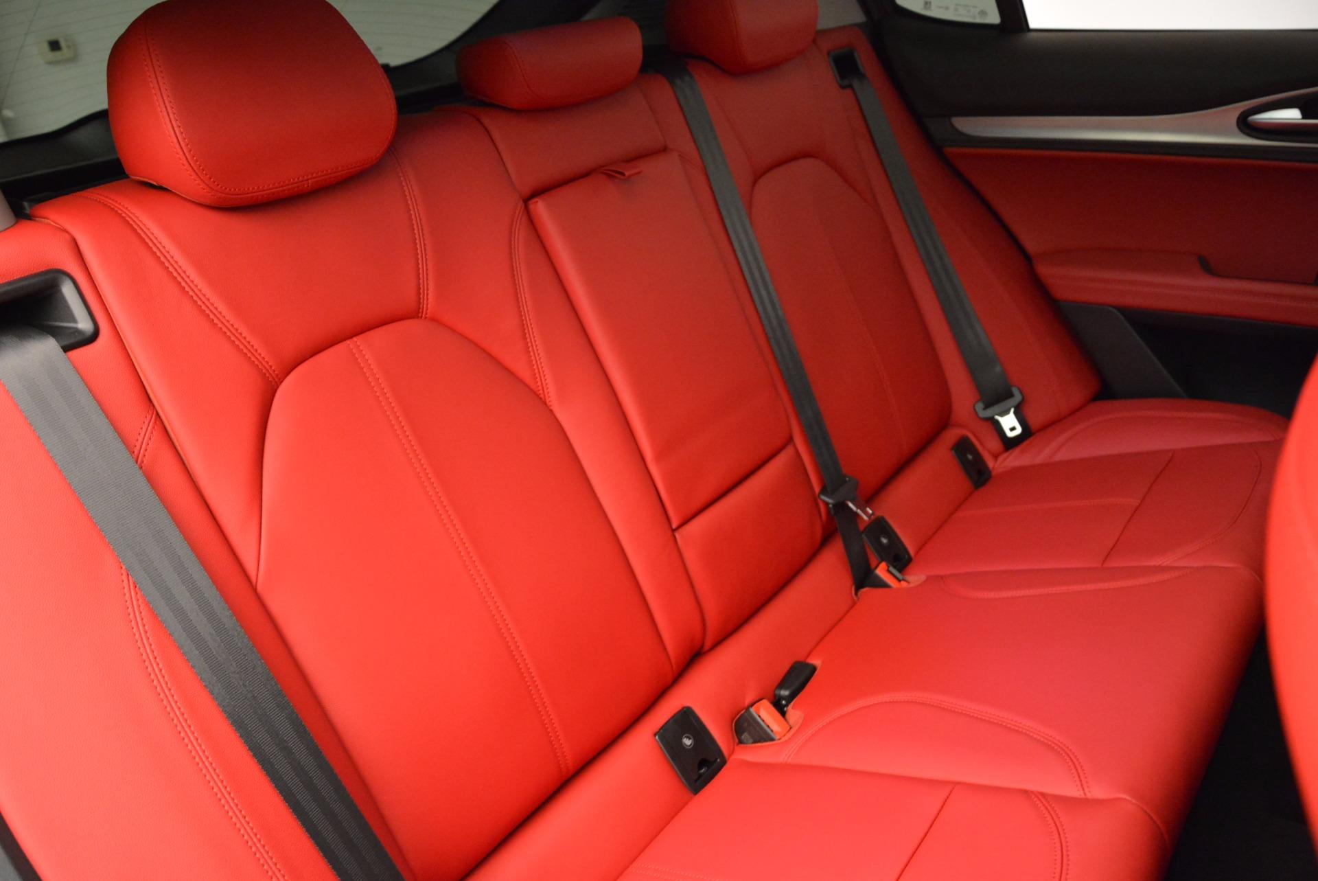 New 2018 Alfa Romeo Stelvio Sport Q4 For Sale In Greenwich, CT. Alfa Romeo of Greenwich, L274 1725_p24
