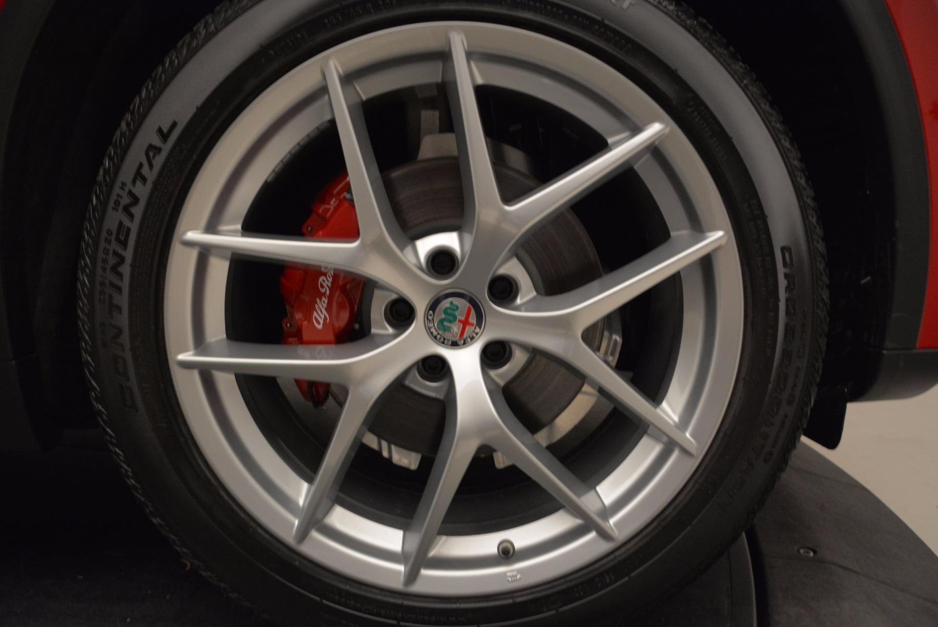 New 2018 Alfa Romeo Stelvio Sport Q4 For Sale In Greenwich, CT. Alfa Romeo of Greenwich, L274 1725_p25