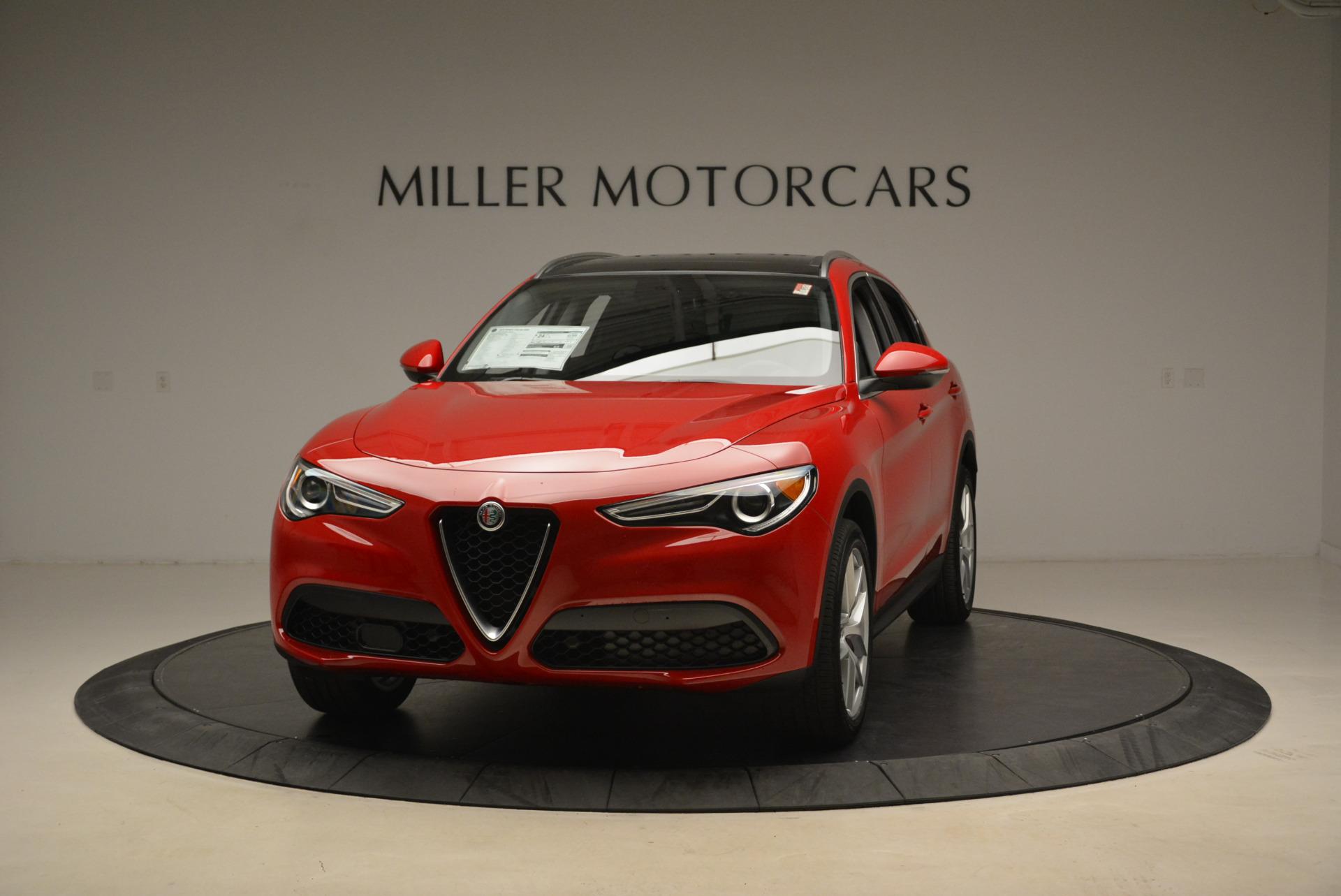 New 2018 Alfa Romeo Stelvio Q4 For Sale In Greenwich, CT. Alfa Romeo of Greenwich, L275 1726_main