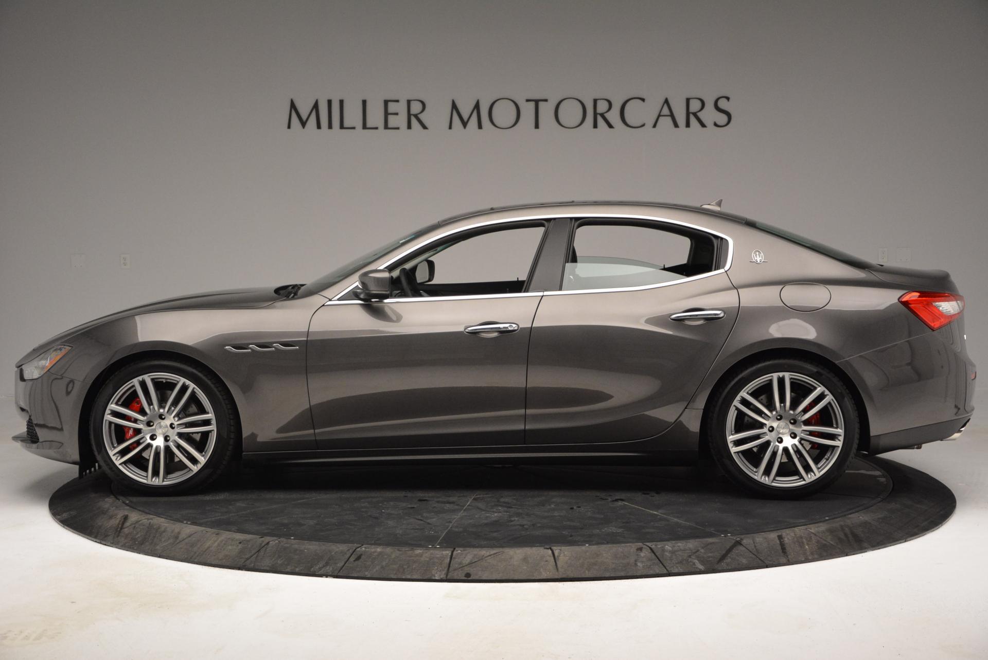 New 2016 Maserati Ghibli S Q4 For Sale In Greenwich, CT. Alfa Romeo of Greenwich, M1550 173_p3