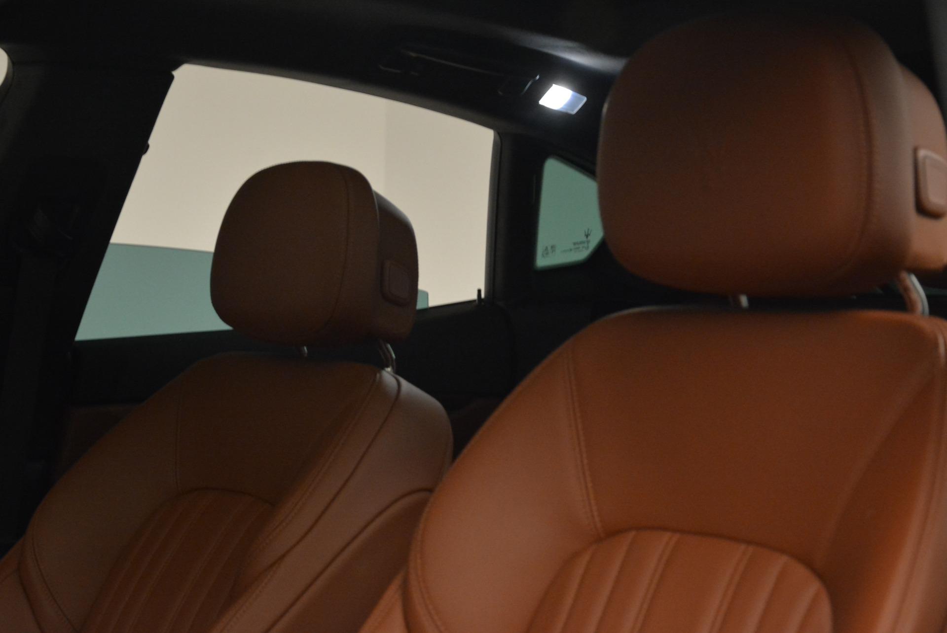 New 2018 Maserati Levante Q4 GranLusso For Sale In Greenwich, CT. Alfa Romeo of Greenwich, M1967 1730_p12
