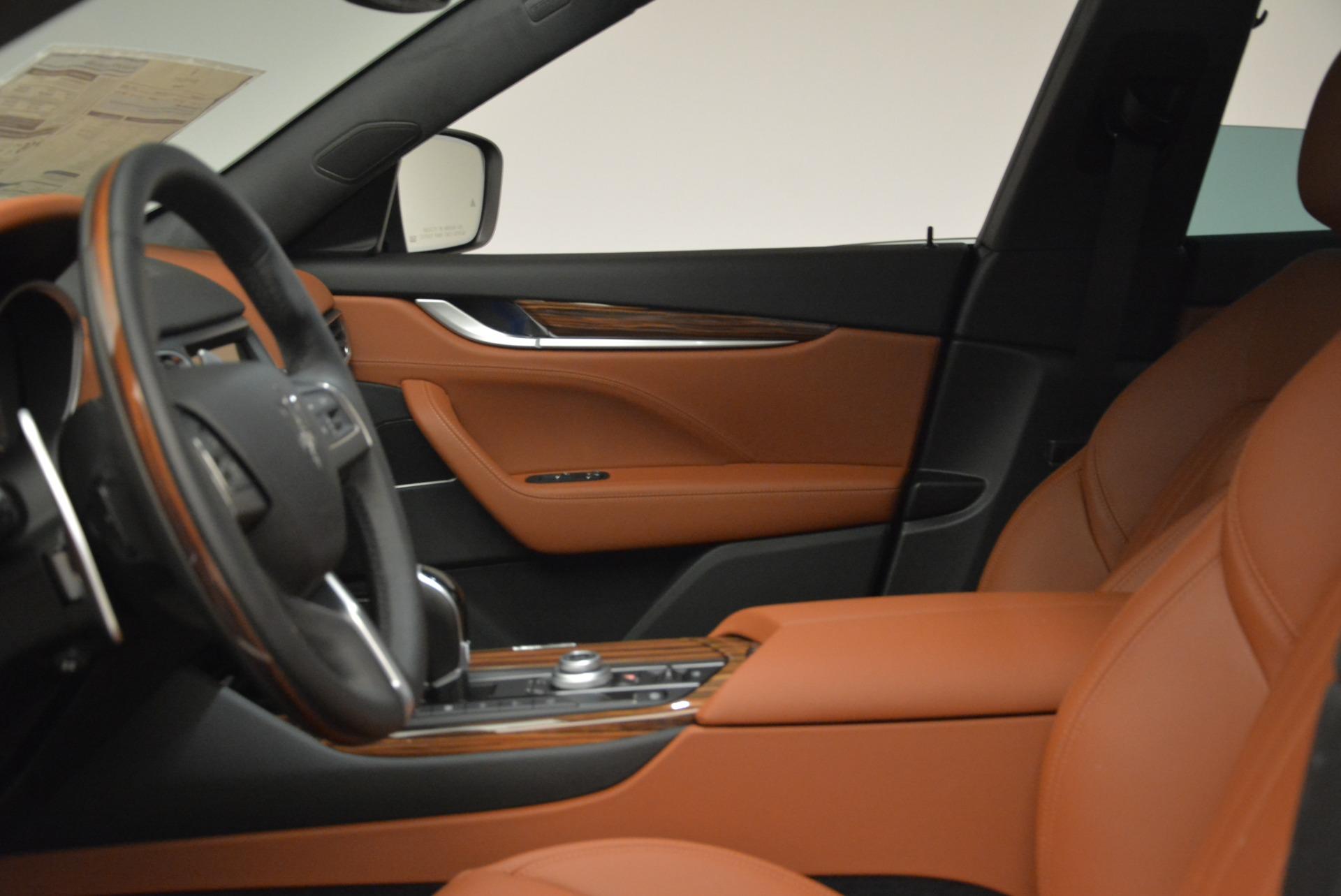 New 2018 Maserati Levante Q4 GranLusso For Sale In Greenwich, CT. Alfa Romeo of Greenwich, M1967 1730_p13