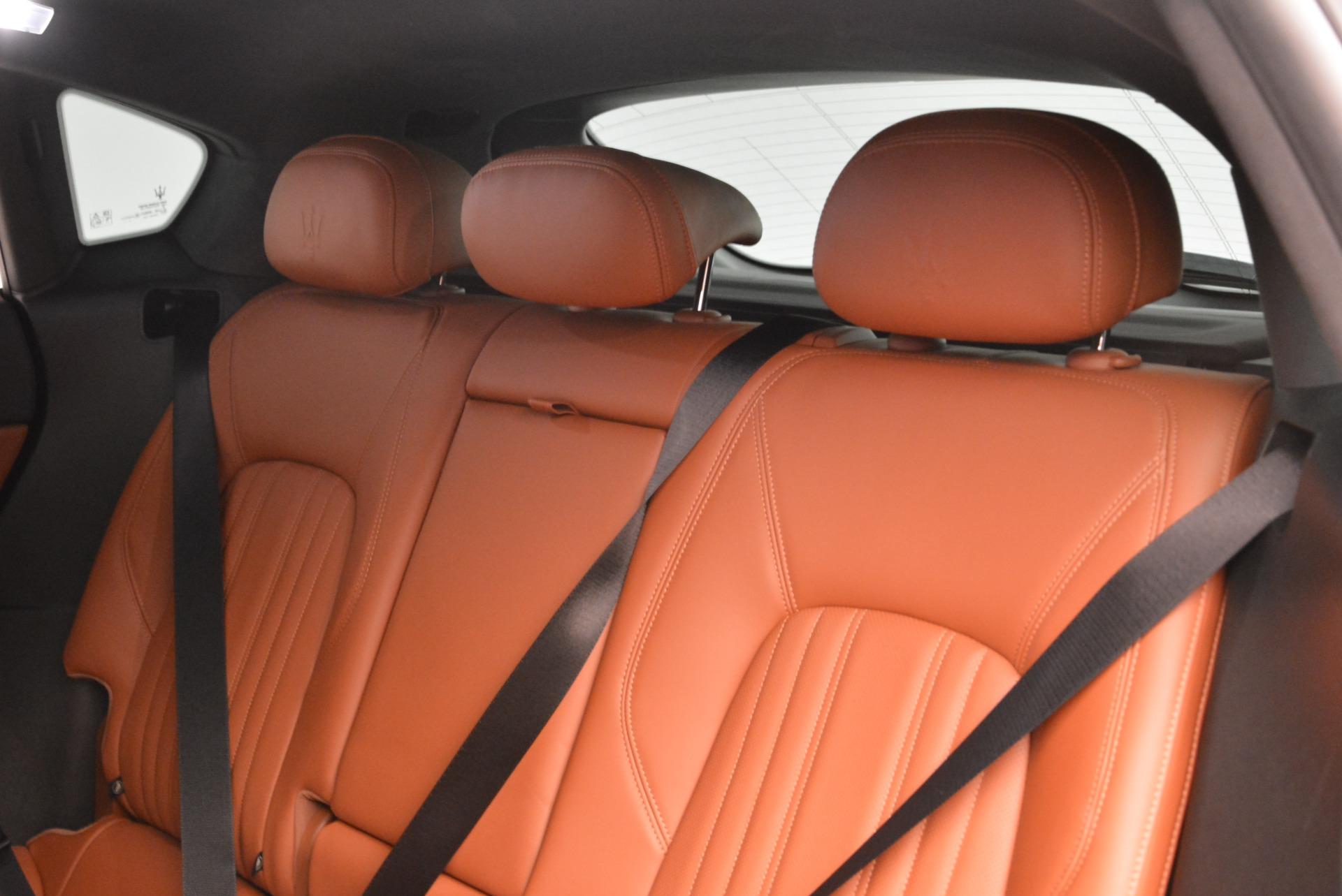New 2018 Maserati Levante Q4 GranLusso For Sale In Greenwich, CT. Alfa Romeo of Greenwich, M1967 1730_p16