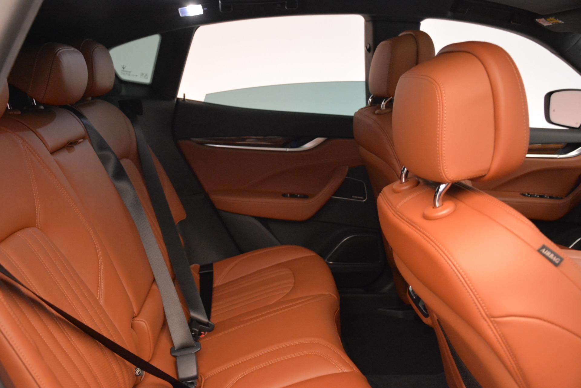 New 2018 Maserati Levante Q4 GranLusso For Sale In Greenwich, CT. Alfa Romeo of Greenwich, M1967 1730_p21