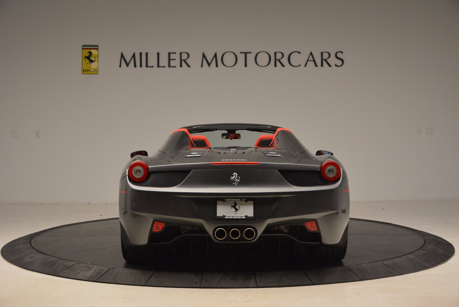 Used 2014 Ferrari 458 Spider  For Sale In Greenwich, CT. Alfa Romeo of Greenwich, 4432 1734_p6