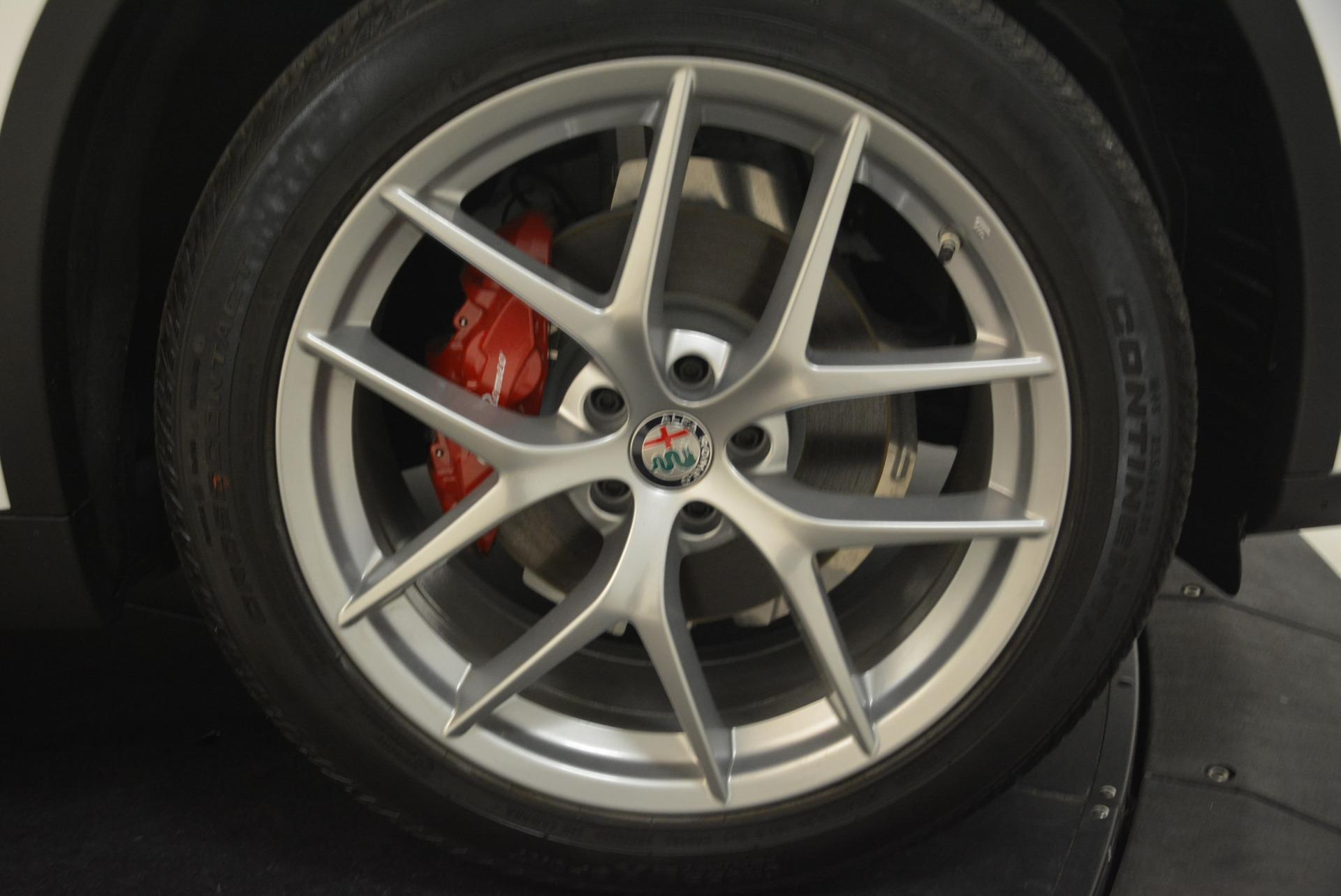 New 2018 Alfa Romeo Stelvio Sport Q4 For Sale In Greenwich, CT. Alfa Romeo of Greenwich, LW081 1738_p25