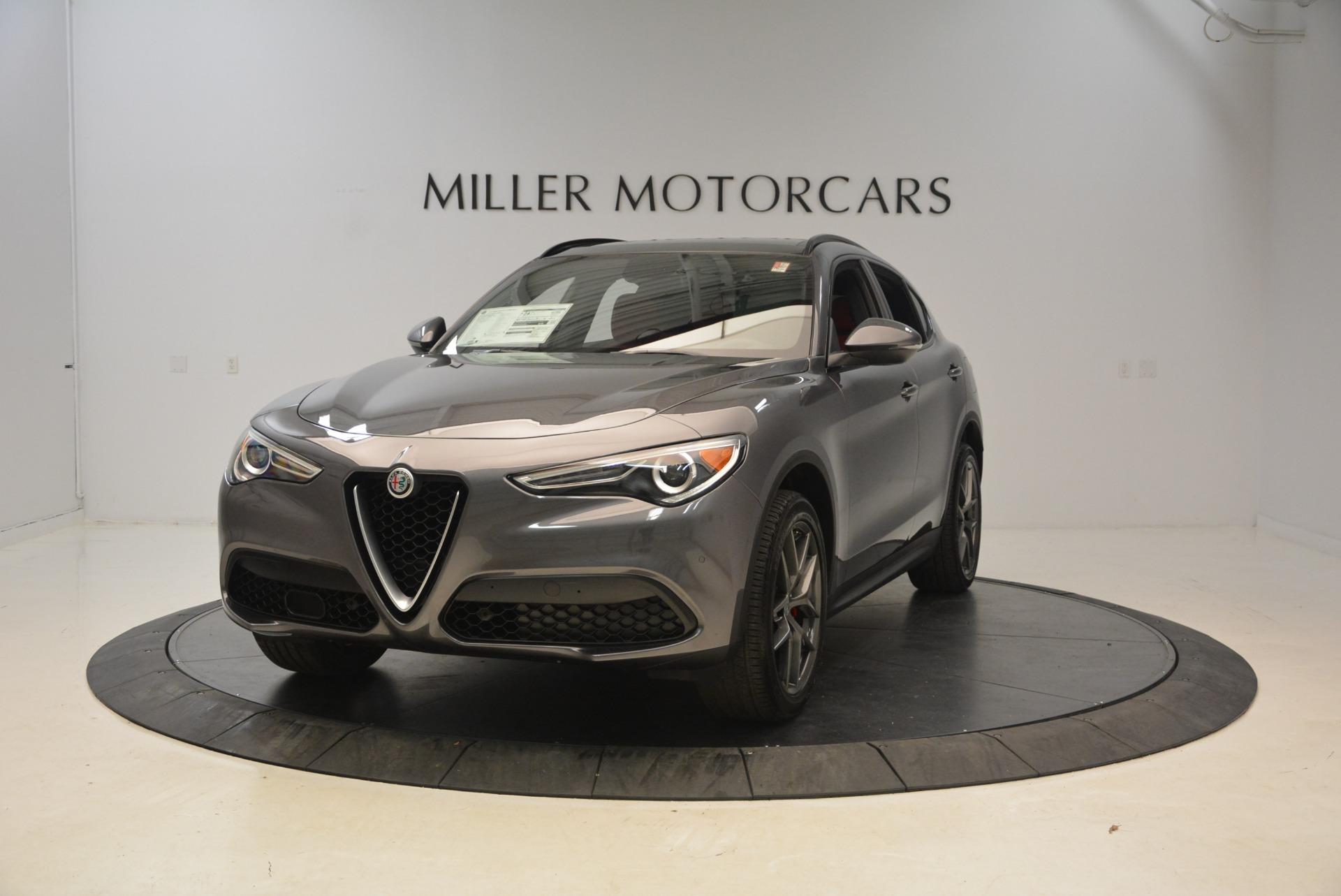 New 2018 Alfa Romeo Stelvio Ti Sport Q4 For Sale In Greenwich, CT. Alfa Romeo of Greenwich, L297 1740_main