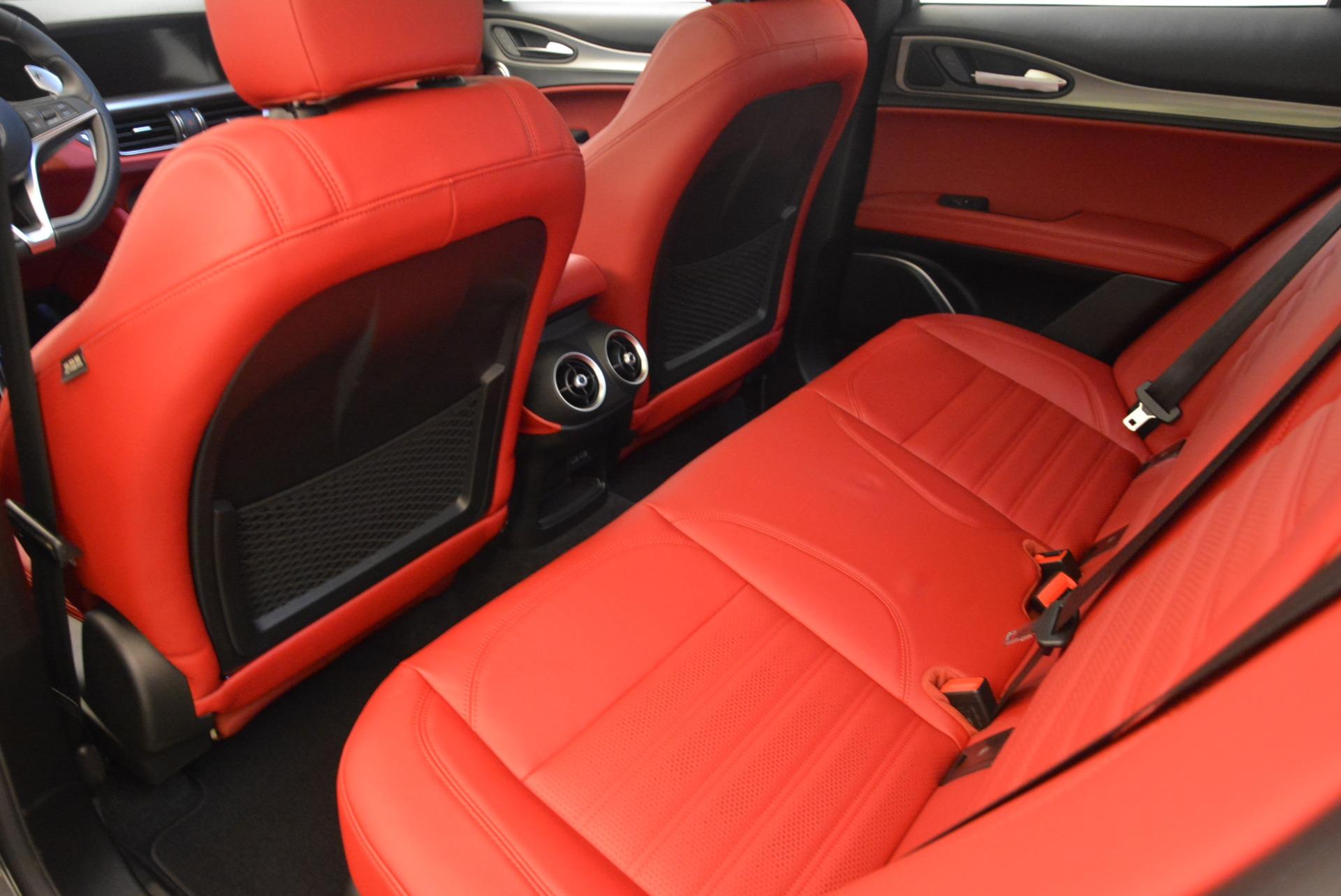 New 2018 Alfa Romeo Stelvio Ti Sport Q4 For Sale In Greenwich, CT. Alfa Romeo of Greenwich, L297 1740_p16