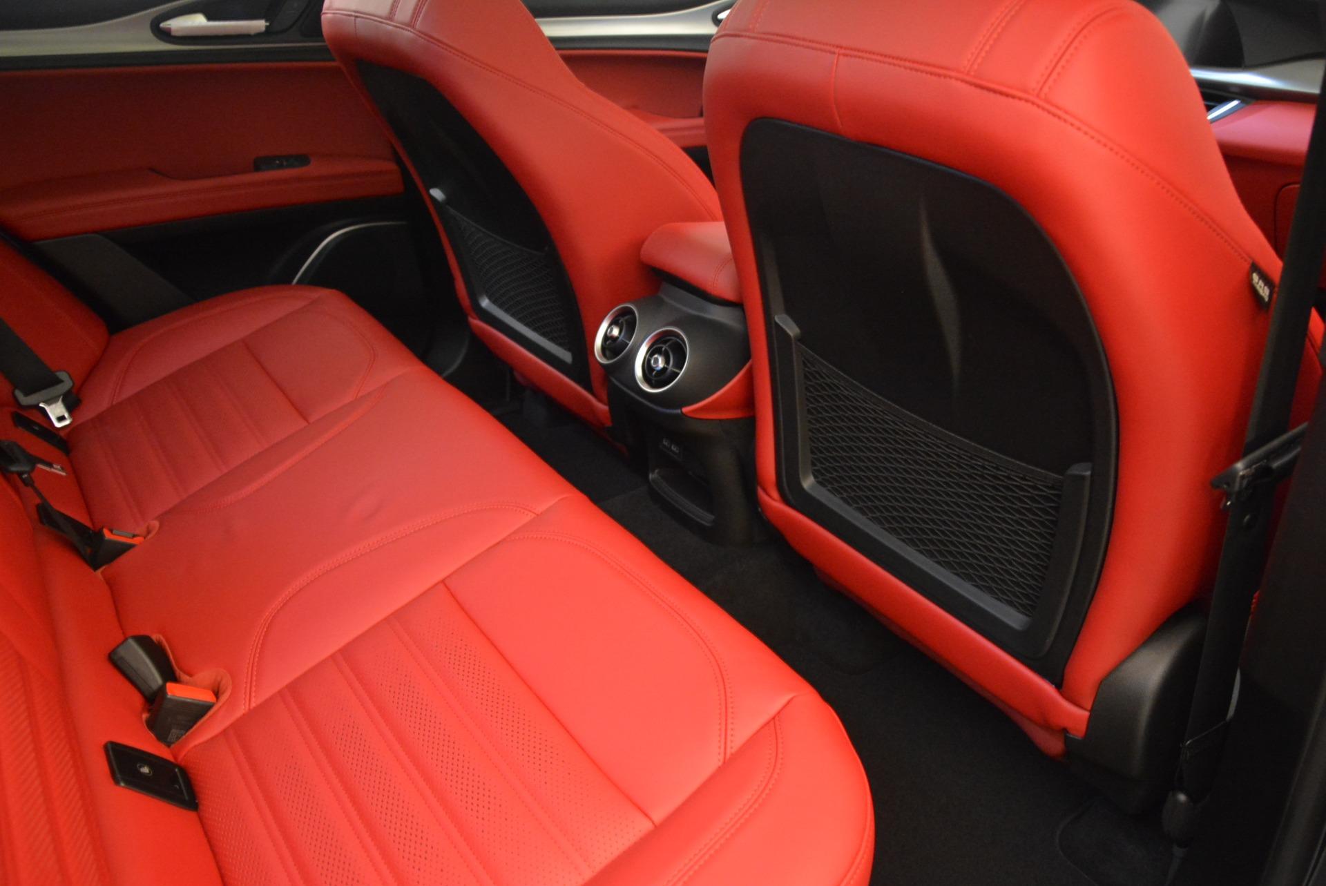 New 2018 Alfa Romeo Stelvio Ti Sport Q4 For Sale In Greenwich, CT. Alfa Romeo of Greenwich, L297 1740_p22