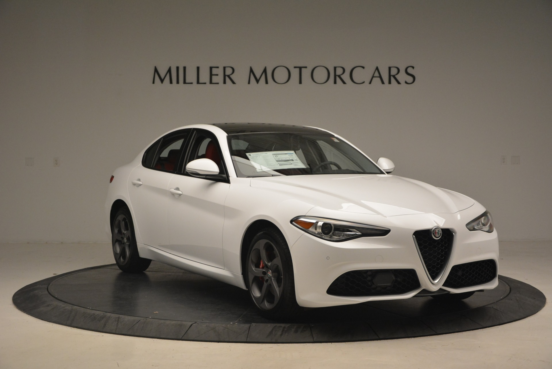 New 2018 Alfa Romeo Giulia Ti Sport Q4 For Sale In Greenwich, CT. Alfa Romeo of Greenwich, L292 1745_p12