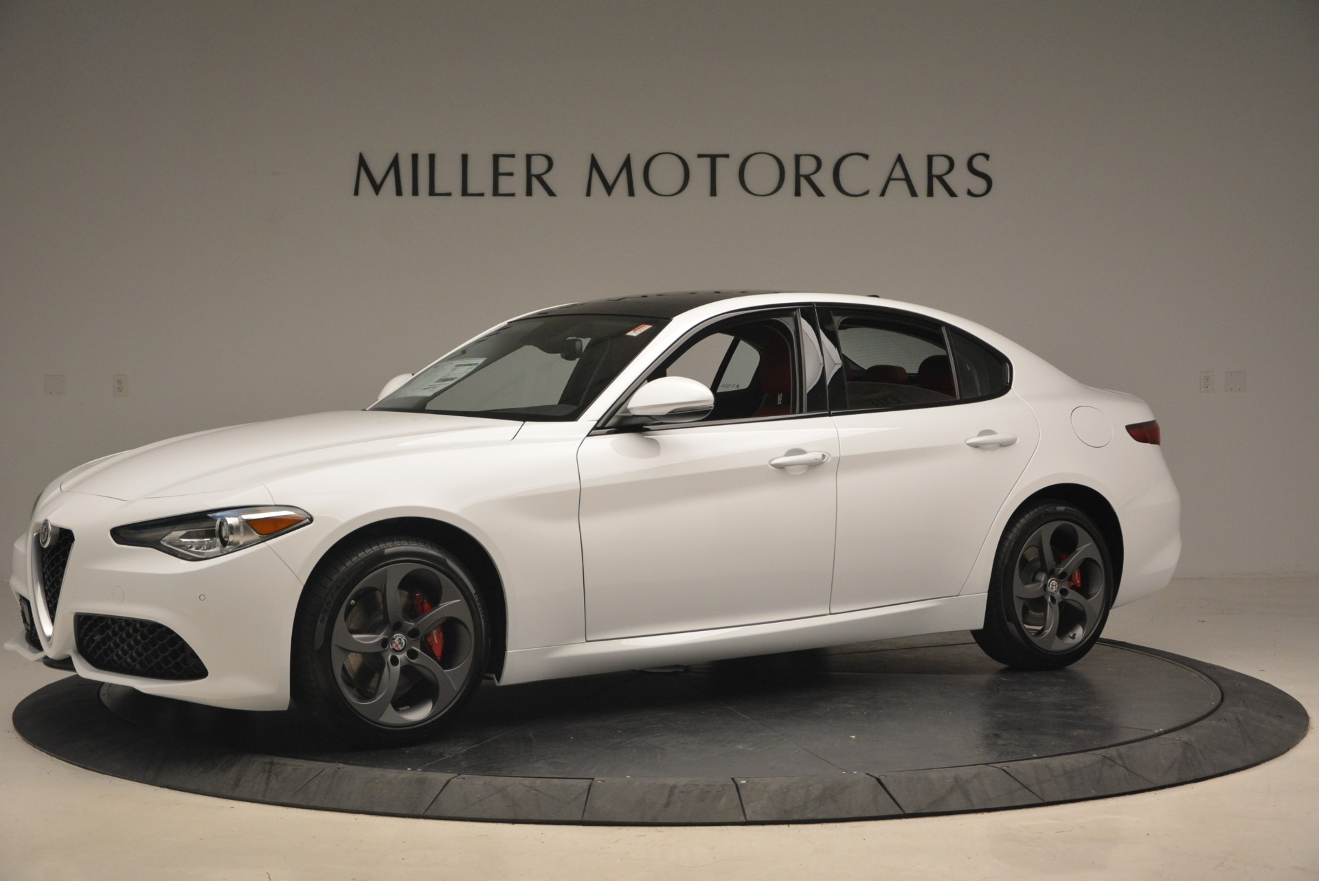 New 2018 Alfa Romeo Giulia Ti Sport Q4 For Sale In Greenwich, CT. Alfa Romeo of Greenwich, L292 1745_p2