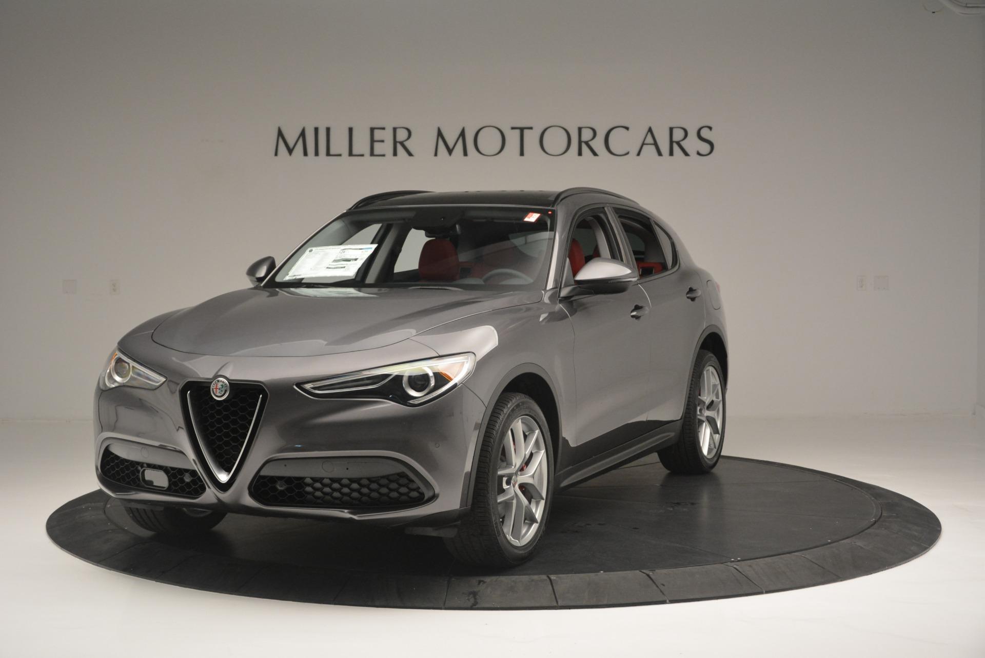 New 2018 Alfa Romeo Stelvio Sport Q4 For Sale In Greenwich, CT. Alfa Romeo of Greenwich, LW080 1761_main