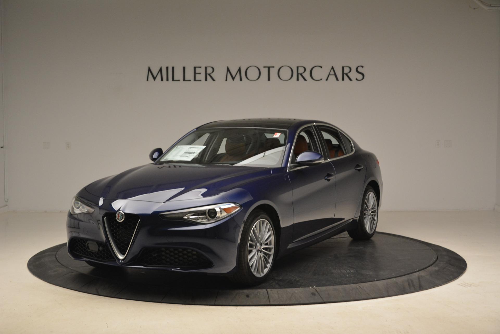 New 2018 Alfa Romeo Giulia Ti Lusso Q4 For Sale In Greenwich, CT. Alfa Romeo of Greenwich, LW074 1764_main