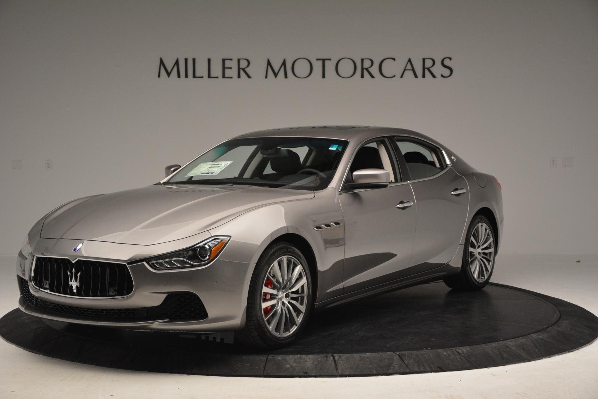 New 2016 Maserati Ghibli S Q4 For Sale In Greenwich, CT. Alfa Romeo of Greenwich, M1538 177_main