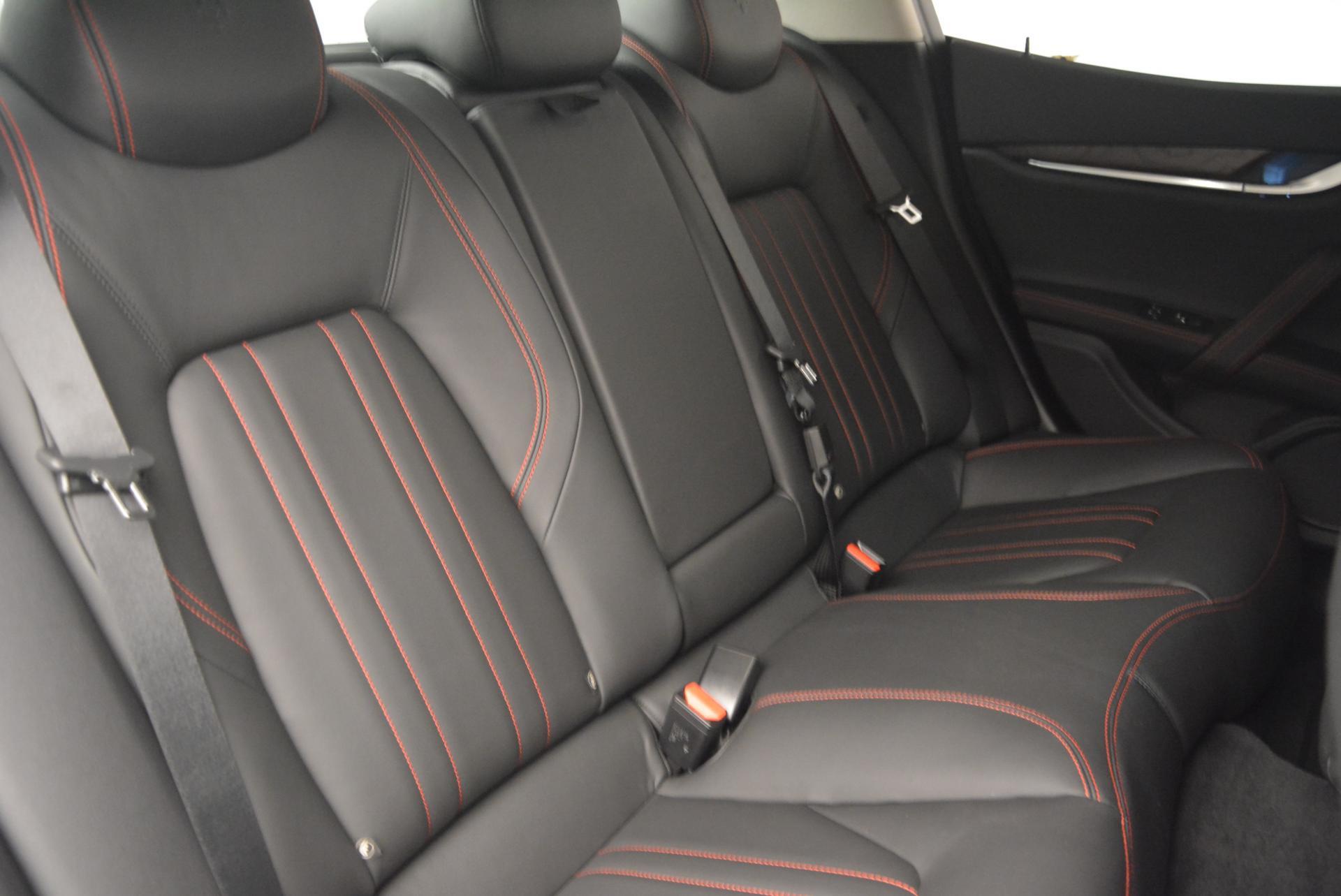 New 2016 Maserati Ghibli S Q4 For Sale In Greenwich, CT. Alfa Romeo of Greenwich, M1538 177_p24