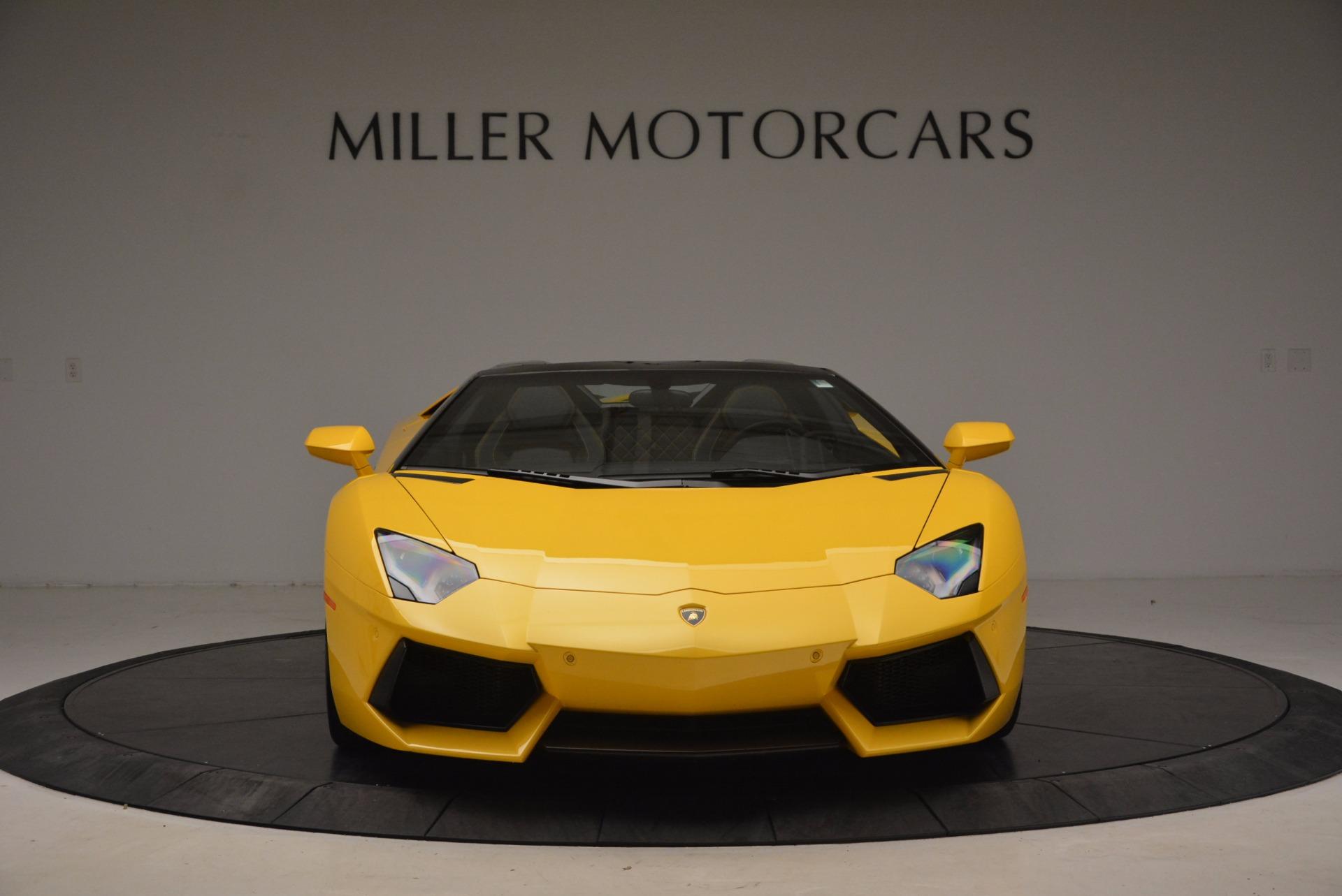 Used 2015 Lamborghini Aventador LP 700-4 Roadster For Sale In Greenwich, CT. Alfa Romeo of Greenwich, 7284 1774_p13