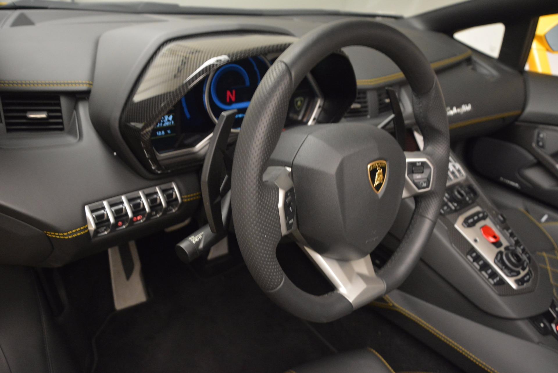Used 2015 Lamborghini Aventador LP 700-4 Roadster For Sale In Greenwich, CT. Alfa Romeo of Greenwich, 7284 1774_p18