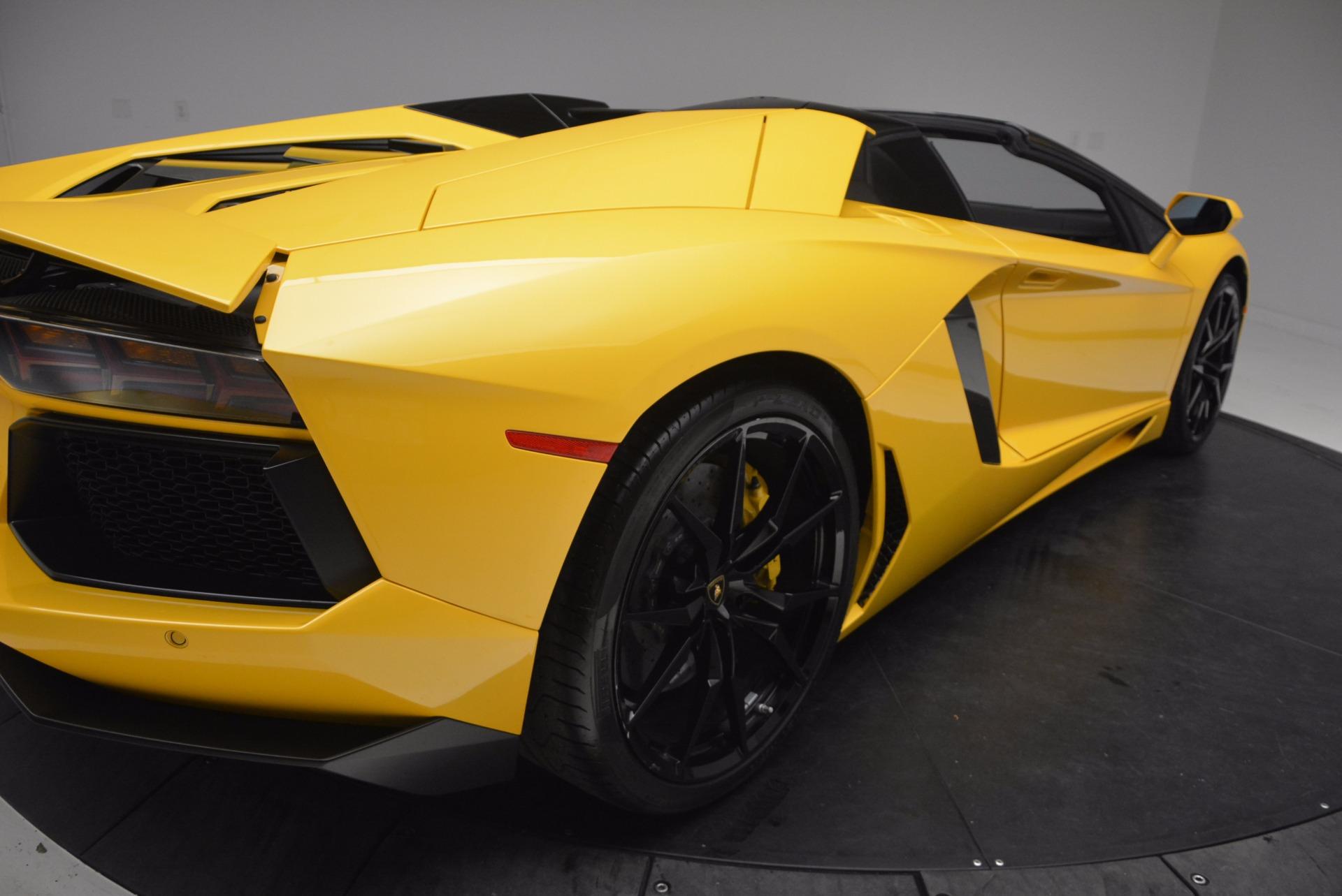 Used 2015 Lamborghini Aventador LP 700-4 Roadster For Sale In Greenwich, CT. Alfa Romeo of Greenwich, 7284 1774_p20