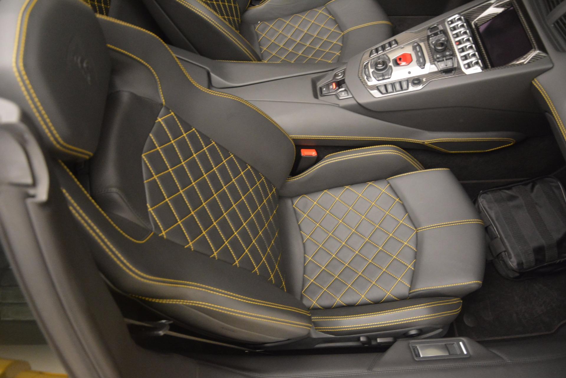Used 2015 Lamborghini Aventador LP 700-4 Roadster For Sale In Greenwich, CT. Alfa Romeo of Greenwich, 7284 1774_p25