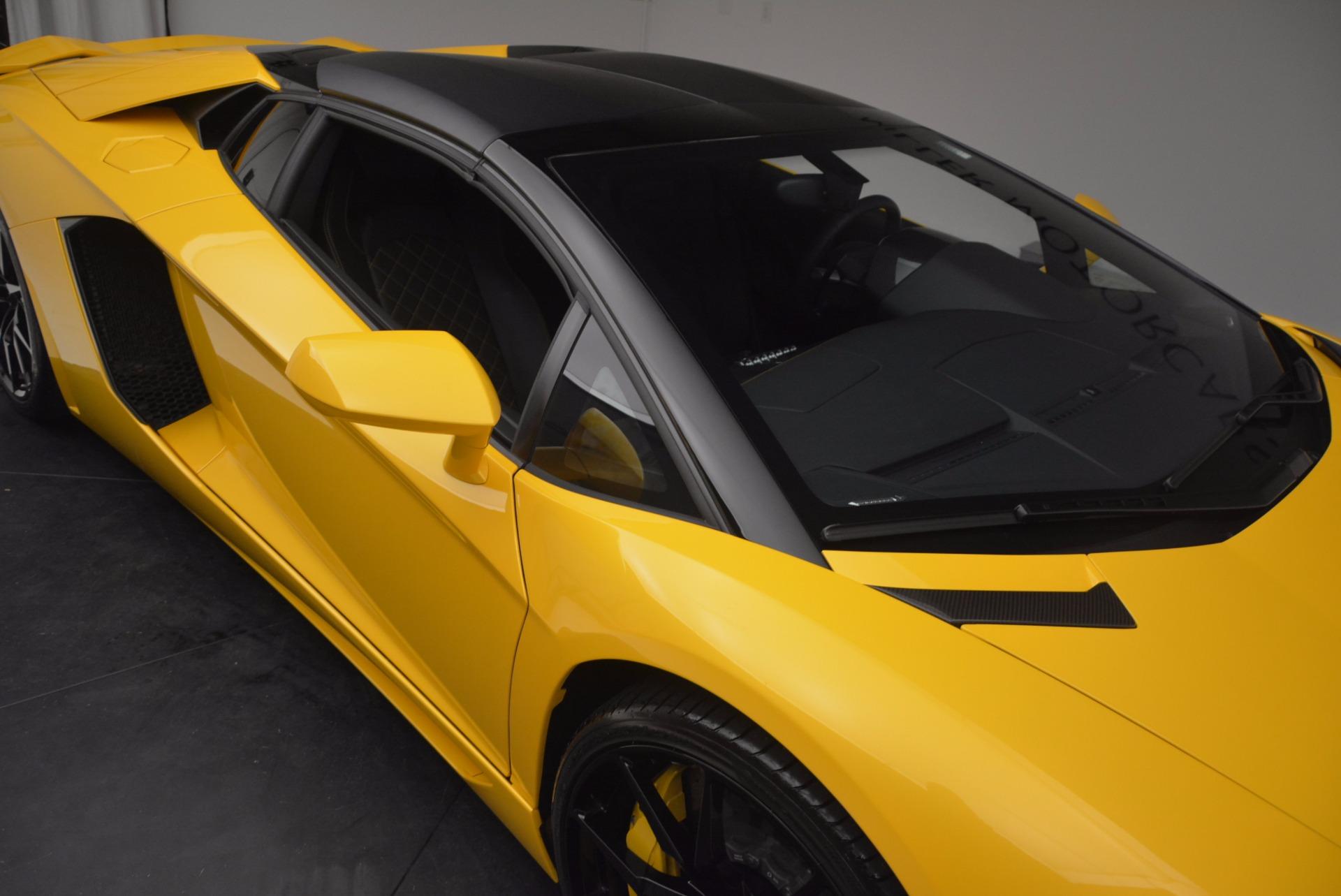 Used 2015 Lamborghini Aventador LP 700-4 Roadster For Sale In Greenwich, CT. Alfa Romeo of Greenwich, 7284 1774_p30