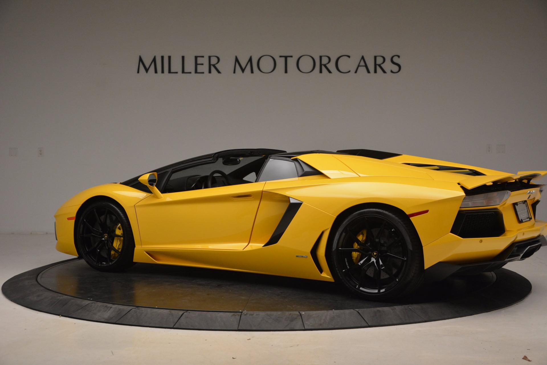 Used 2015 Lamborghini Aventador LP 700-4 Roadster For Sale In Greenwich, CT. Alfa Romeo of Greenwich, 7284 1774_p4