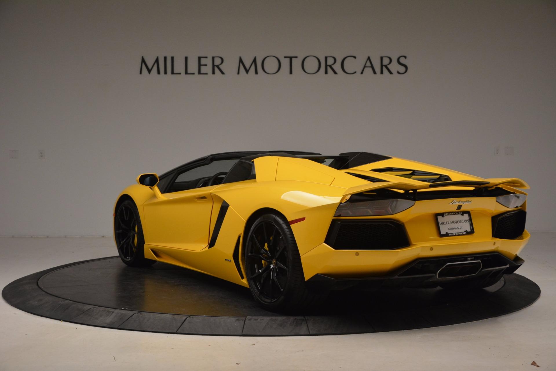 Used 2015 Lamborghini Aventador LP 700-4 Roadster For Sale In Greenwich, CT. Alfa Romeo of Greenwich, 7284 1774_p5