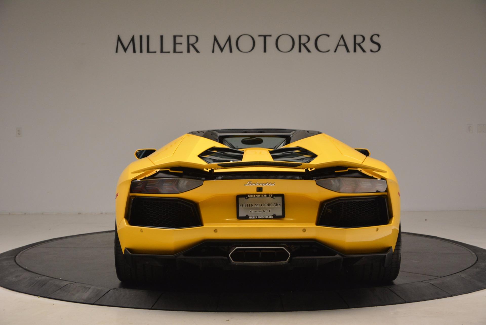 Used 2015 Lamborghini Aventador LP 700-4 Roadster For Sale In Greenwich, CT. Alfa Romeo of Greenwich, 7284 1774_p6