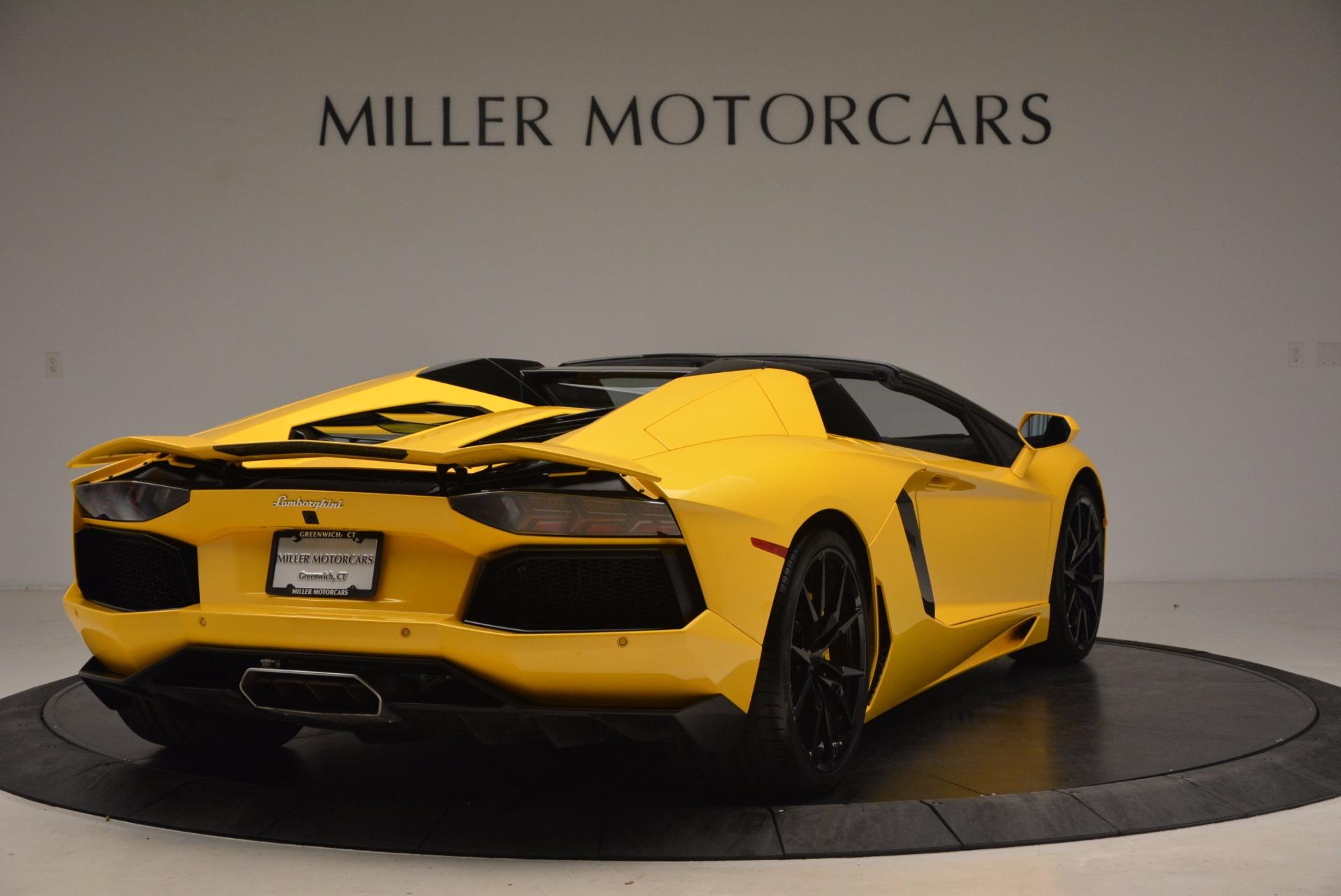 Used 2015 Lamborghini Aventador LP 700-4 Roadster For Sale In Greenwich, CT. Alfa Romeo of Greenwich, 7284 1774_p8