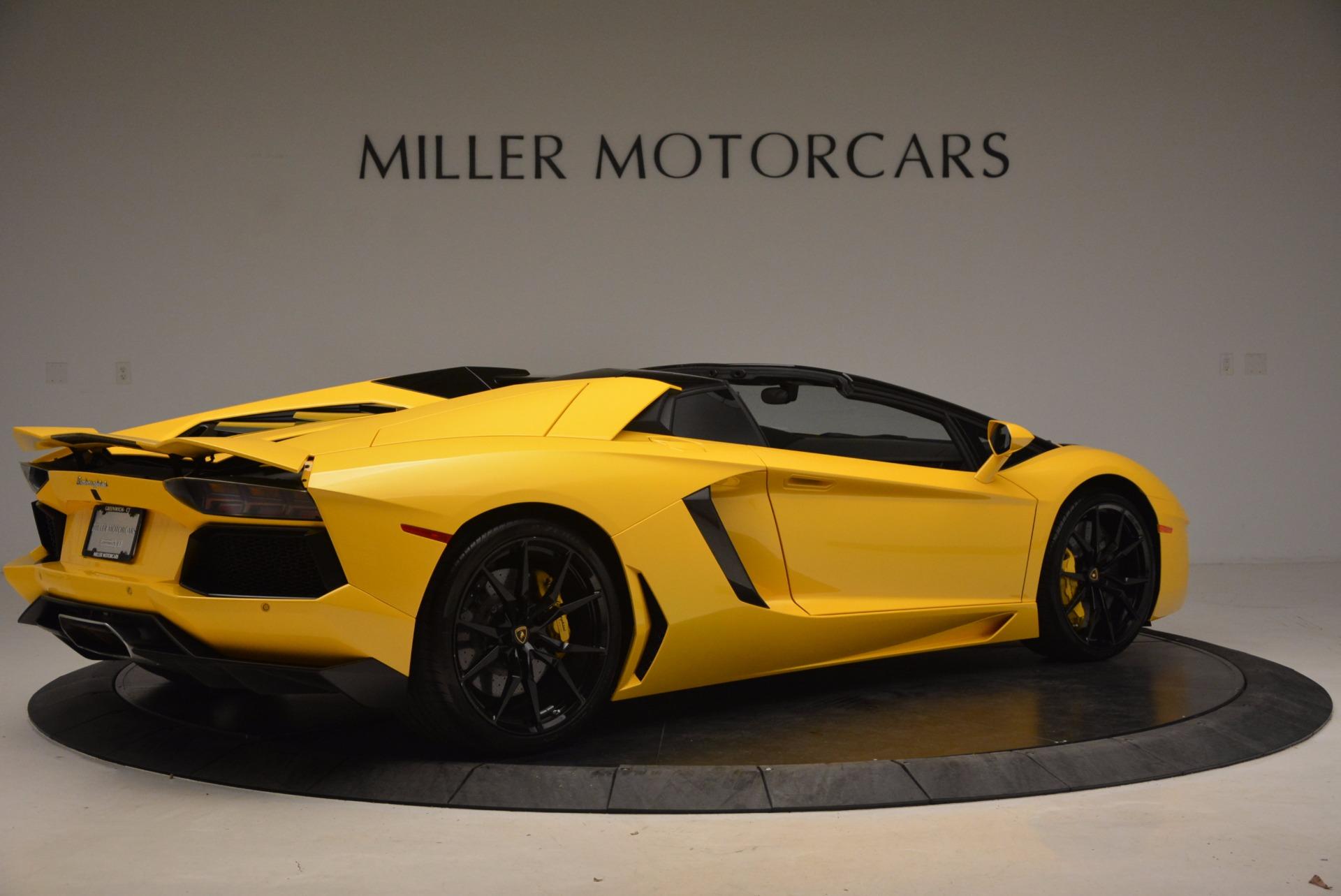 Used 2015 Lamborghini Aventador LP 700-4 Roadster For Sale In Greenwich, CT. Alfa Romeo of Greenwich, 7284 1774_p9