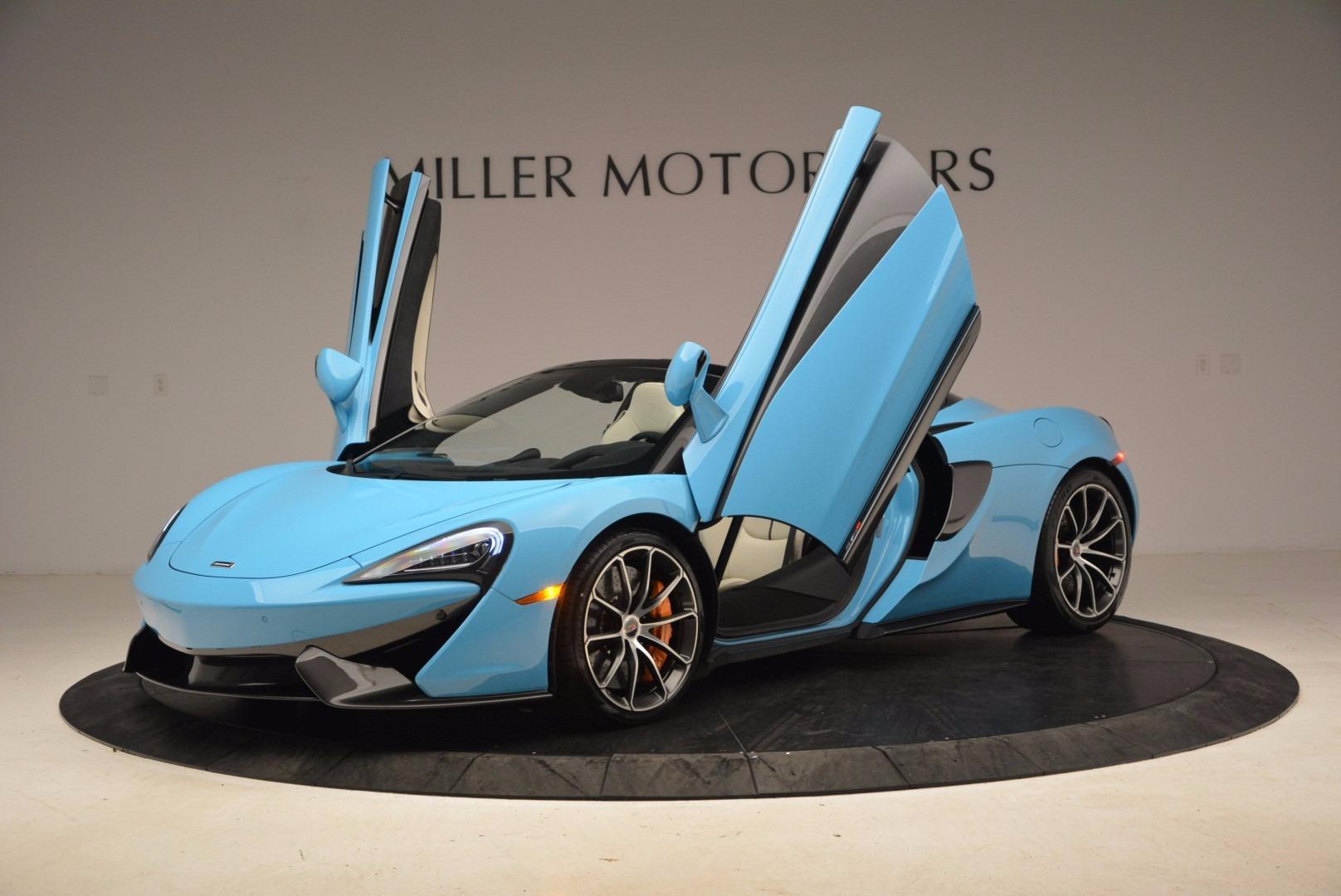 New 2018 McLaren 570S Spider For Sale In Greenwich, CT. Alfa Romeo of Greenwich, MC322 1775_p15