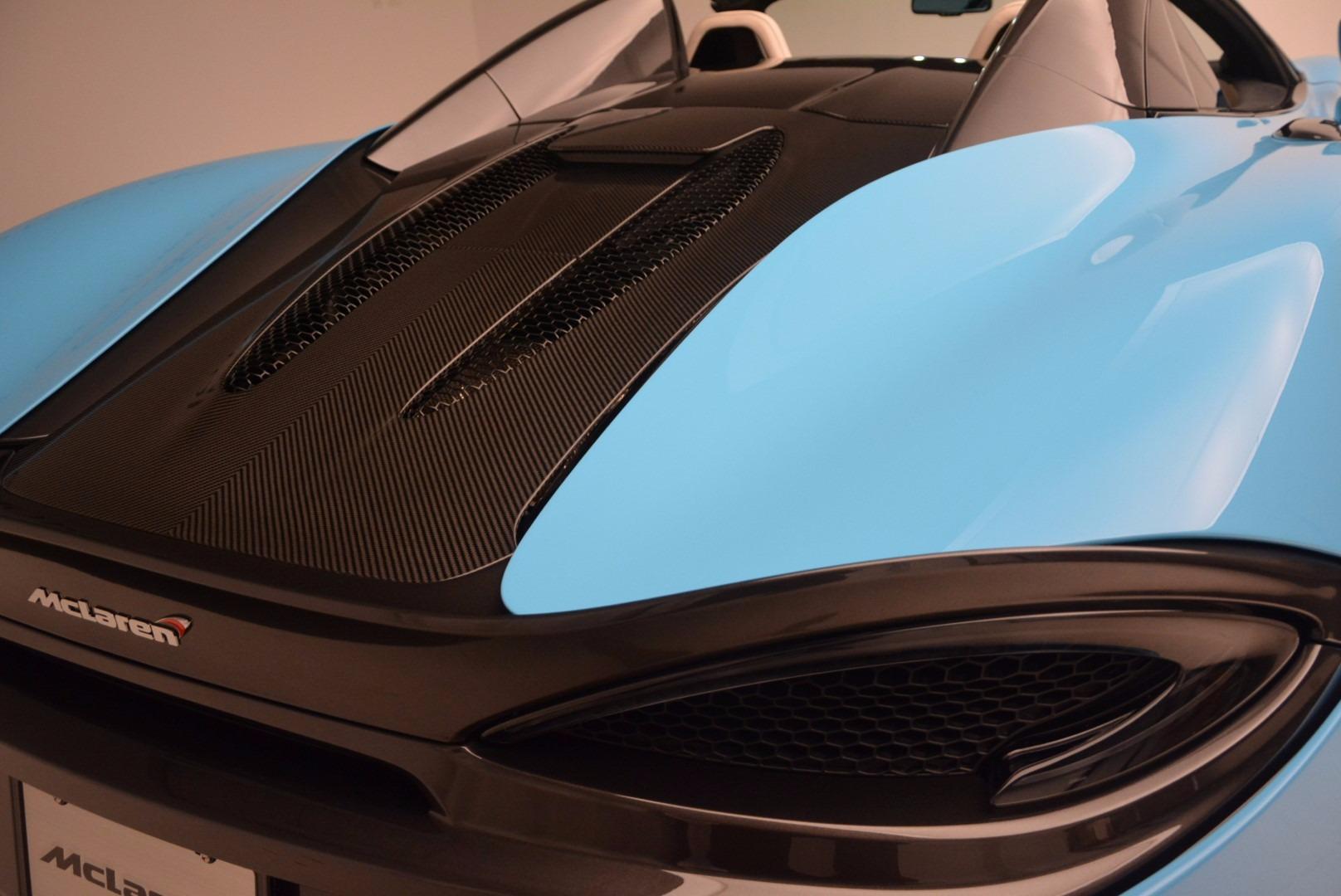 New 2018 McLaren 570S Spider For Sale In Greenwich, CT. Alfa Romeo of Greenwich, MC322 1775_p35