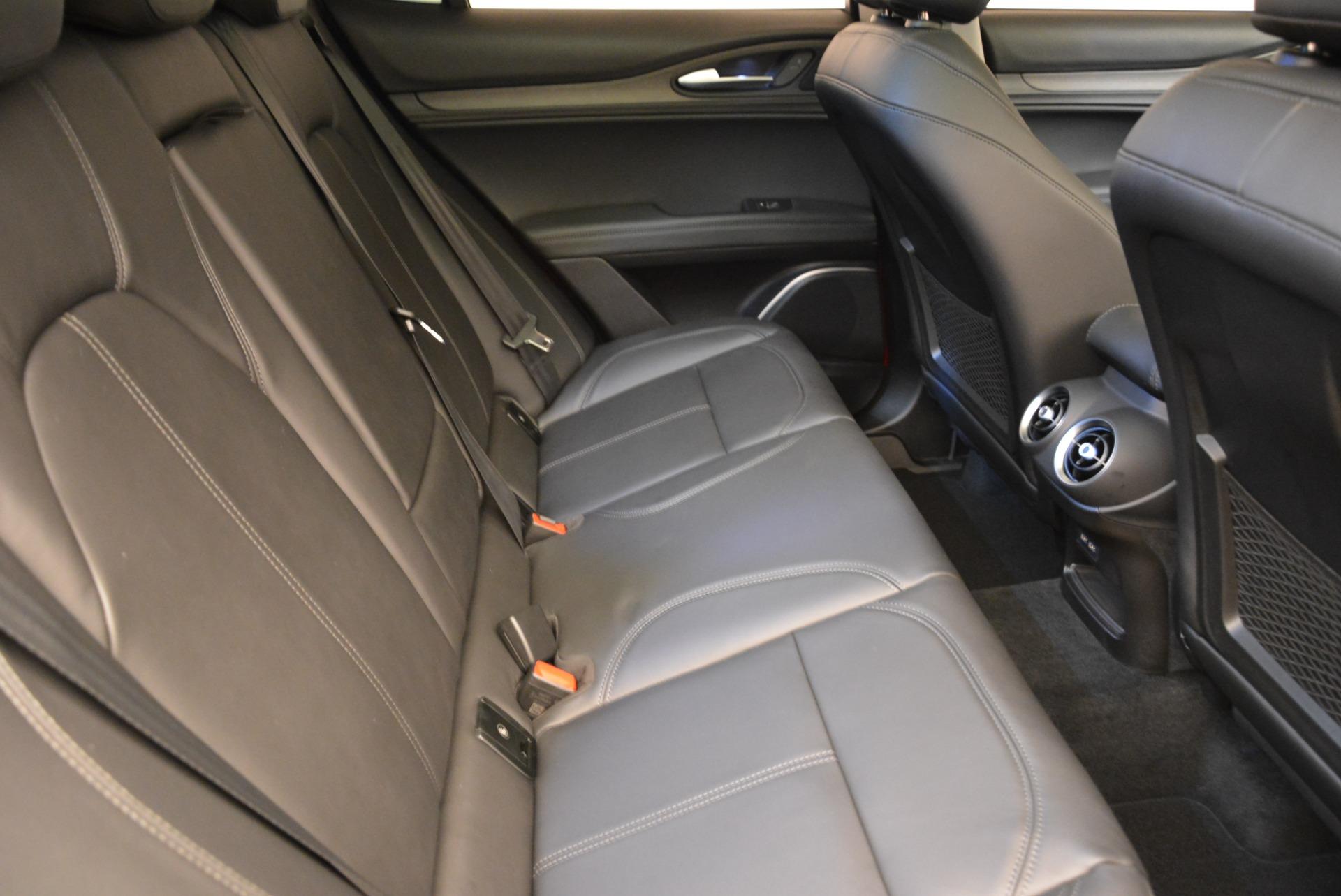 New 2018 Alfa Romeo Stelvio Ti Q4 For Sale In Greenwich, CT. Alfa Romeo of Greenwich, L304 1776_p23