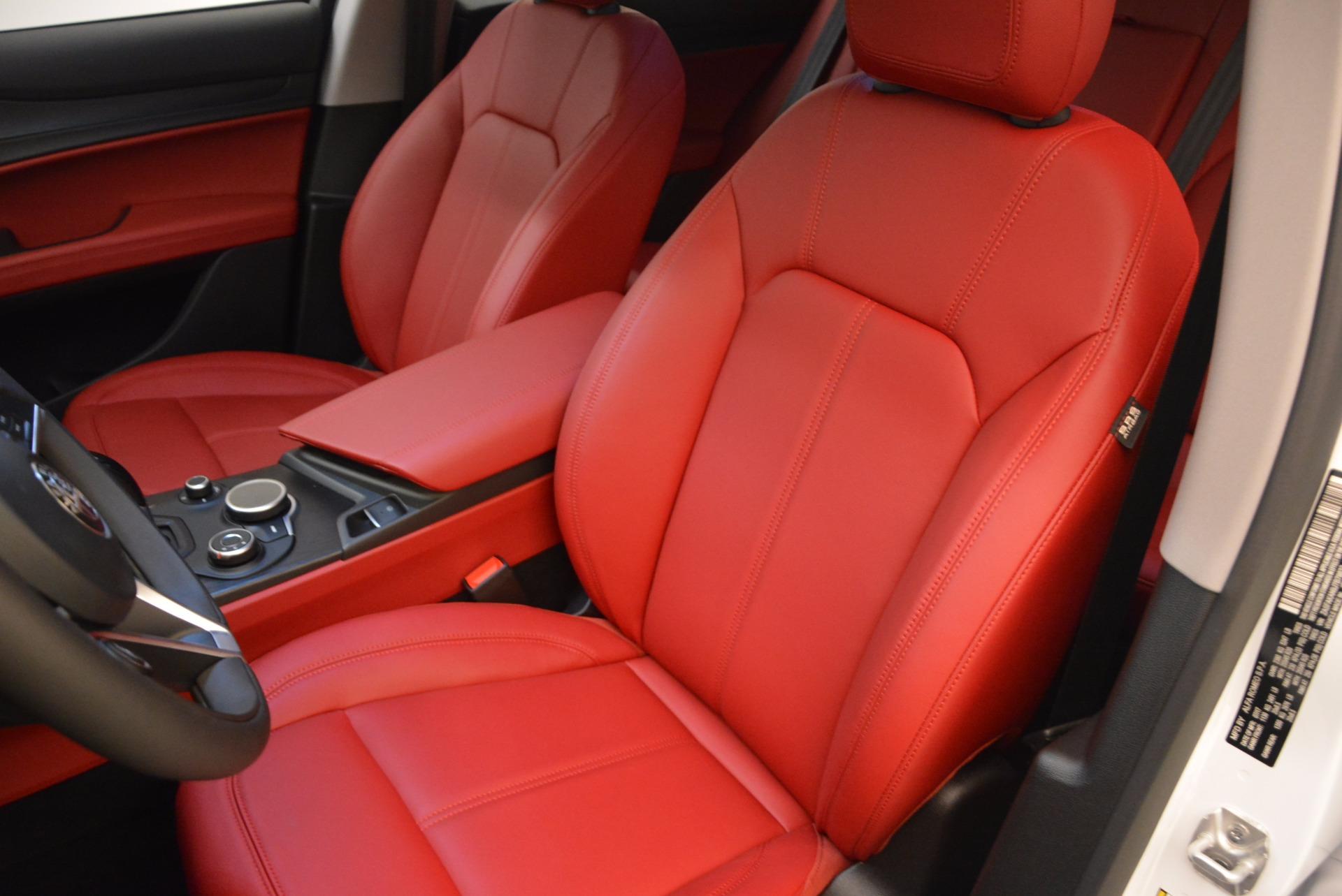 New 2018 Alfa Romeo Stelvio Ti Sport Q4 For Sale In Greenwich, CT. Alfa Romeo of Greenwich, L303 1777_p15