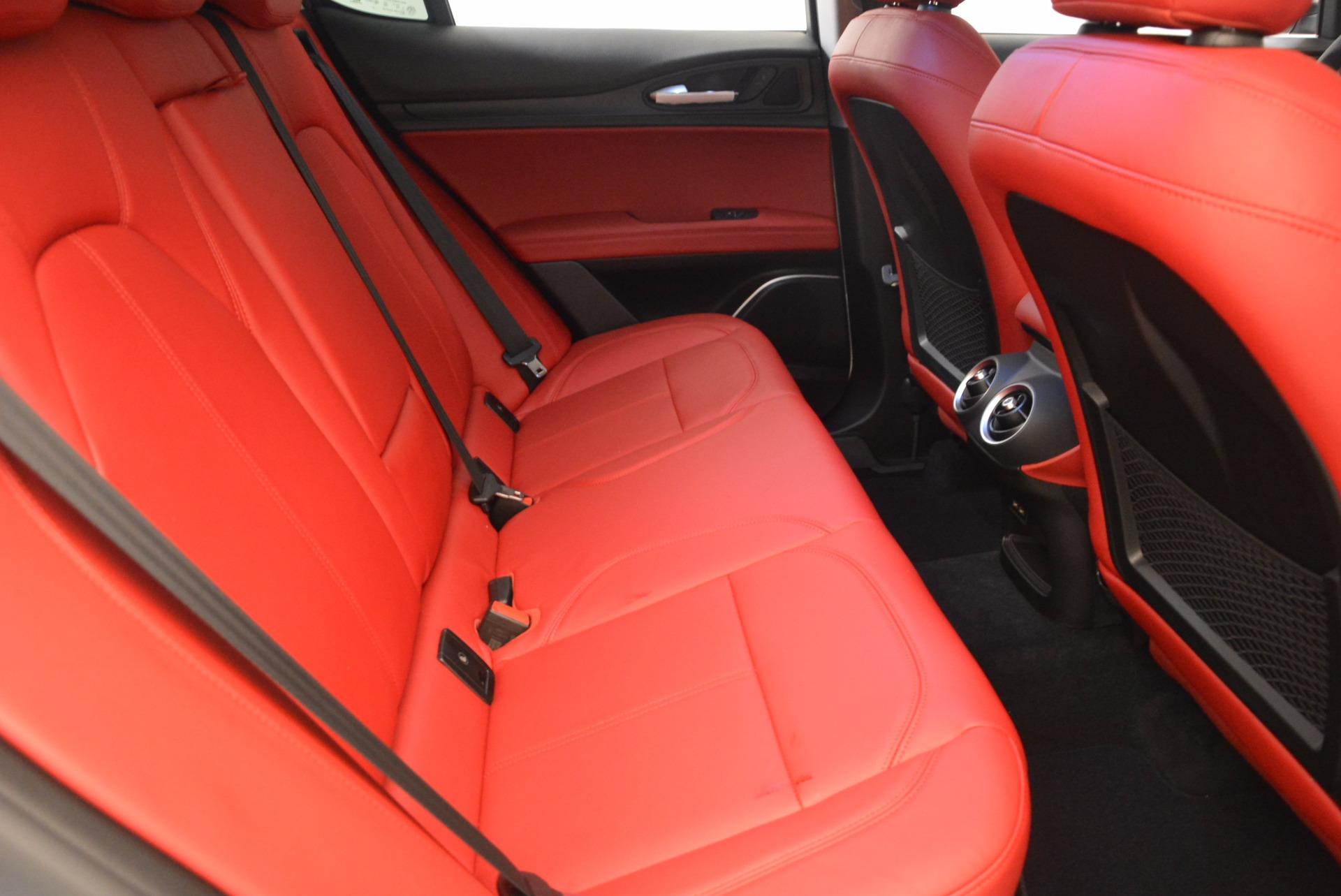 New 2018 Alfa Romeo Stelvio Ti Sport Q4 For Sale In Greenwich, CT. Alfa Romeo of Greenwich, L303 1777_p23