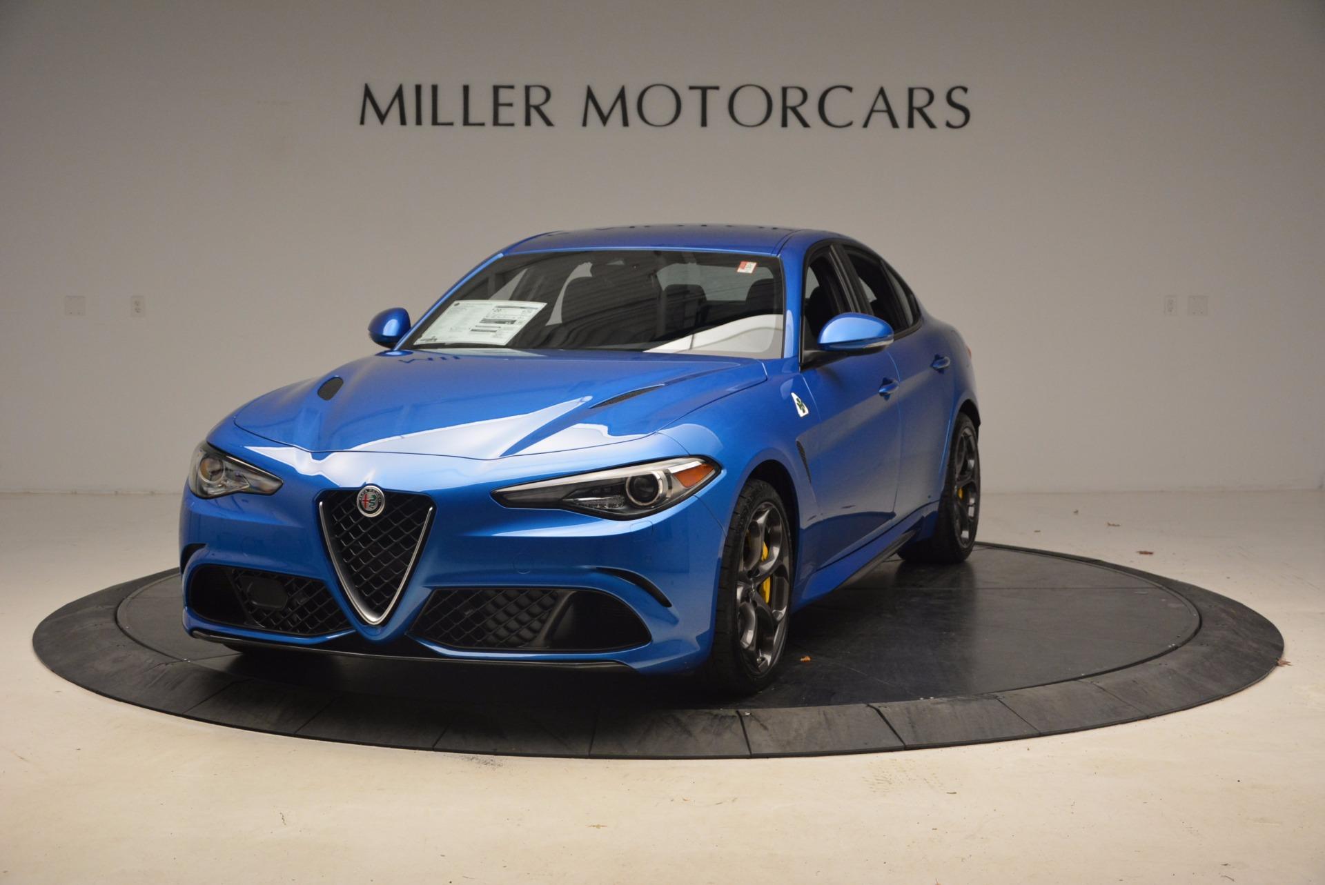 New 2018 Alfa Romeo Giulia Quadrifoglio For Sale In Greenwich, CT. Alfa Romeo of Greenwich, LW086 1782_main
