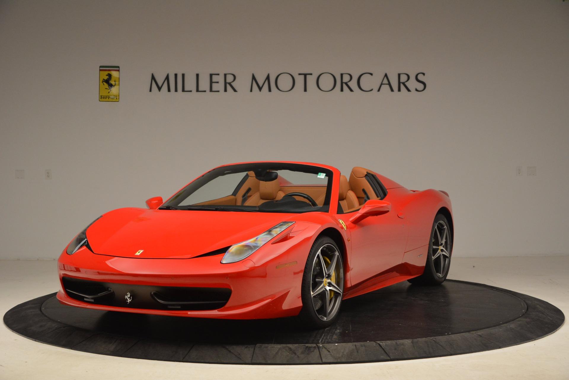 Used 2013 Ferrari 458 Spider  For Sale In Greenwich, CT. Alfa Romeo of Greenwich, 4433 1784_main