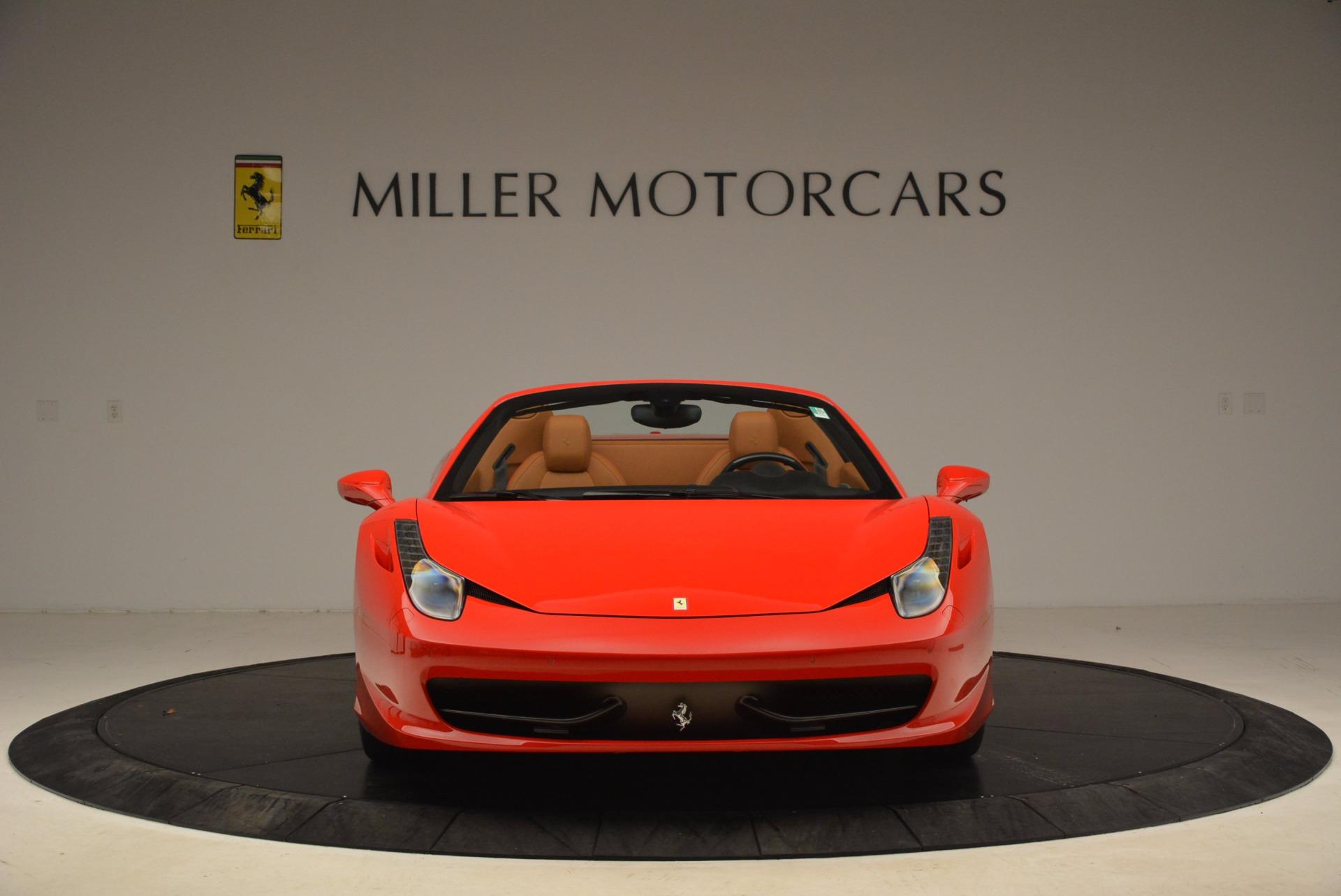 Used 2013 Ferrari 458 Spider  For Sale In Greenwich, CT. Alfa Romeo of Greenwich, 4433 1784_p12