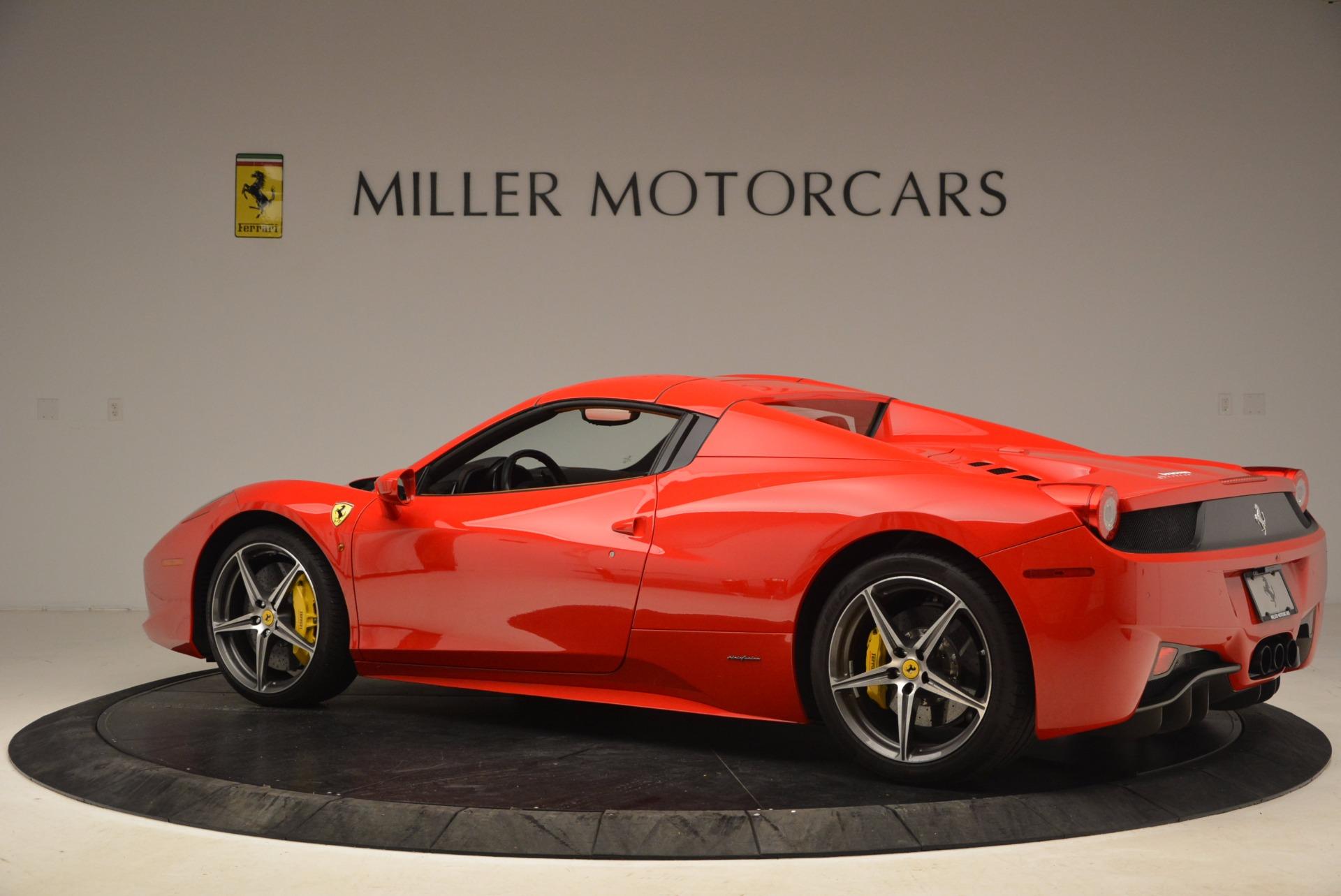Used 2013 Ferrari 458 Spider  For Sale In Greenwich, CT. Alfa Romeo of Greenwich, 4433 1784_p16