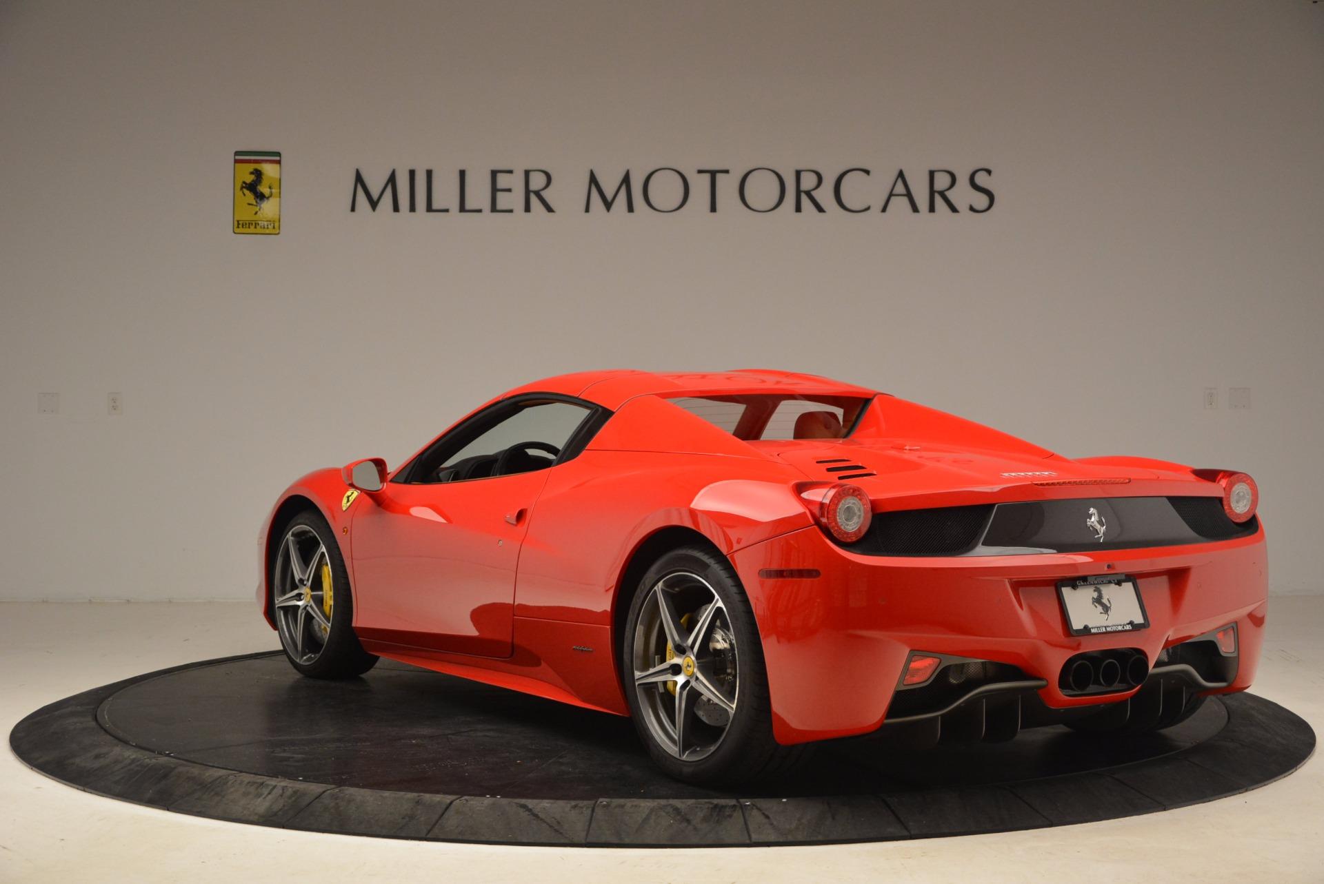 Used 2013 Ferrari 458 Spider  For Sale In Greenwich, CT. Alfa Romeo of Greenwich, 4433 1784_p17