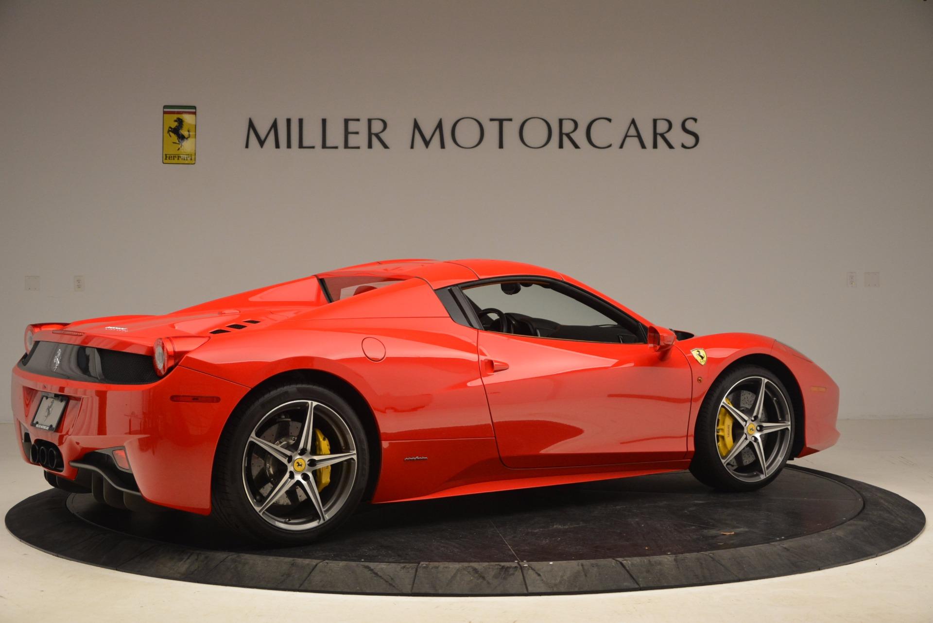 Used 2013 Ferrari 458 Spider  For Sale In Greenwich, CT. Alfa Romeo of Greenwich, 4433 1784_p20