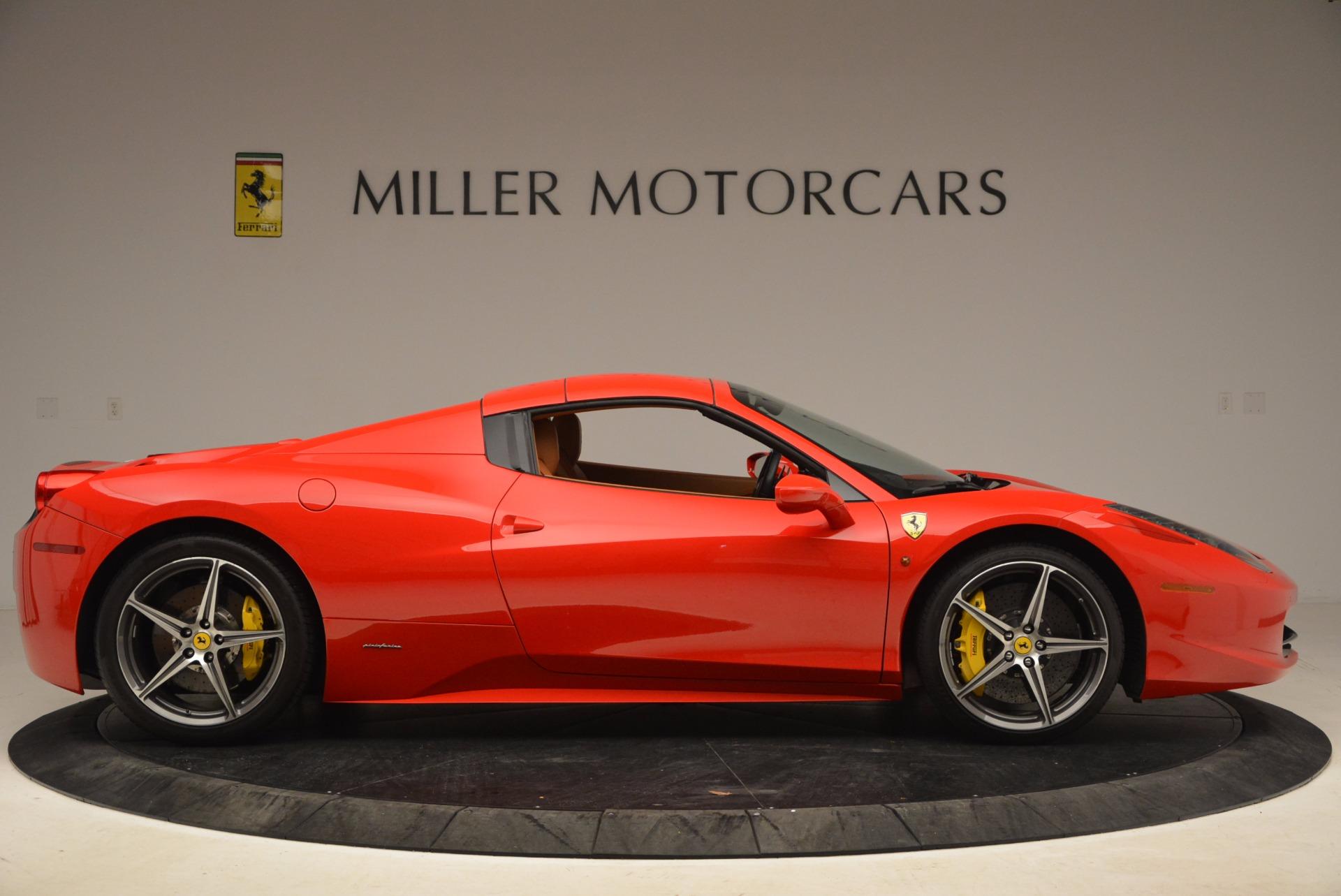 Used 2013 Ferrari 458 Spider  For Sale In Greenwich, CT. Alfa Romeo of Greenwich, 4433 1784_p21