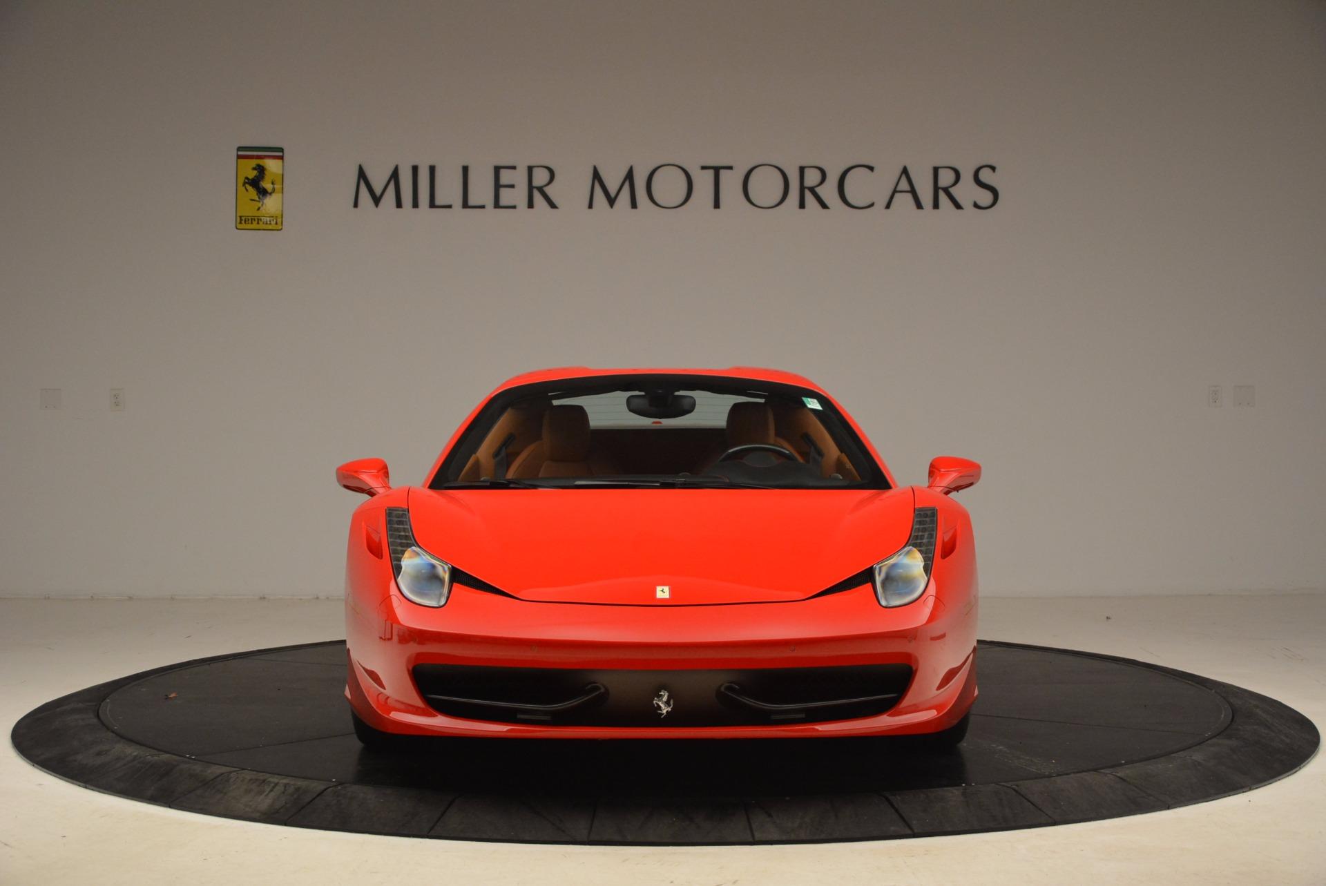 Used 2013 Ferrari 458 Spider  For Sale In Greenwich, CT. Alfa Romeo of Greenwich, 4433 1784_p24