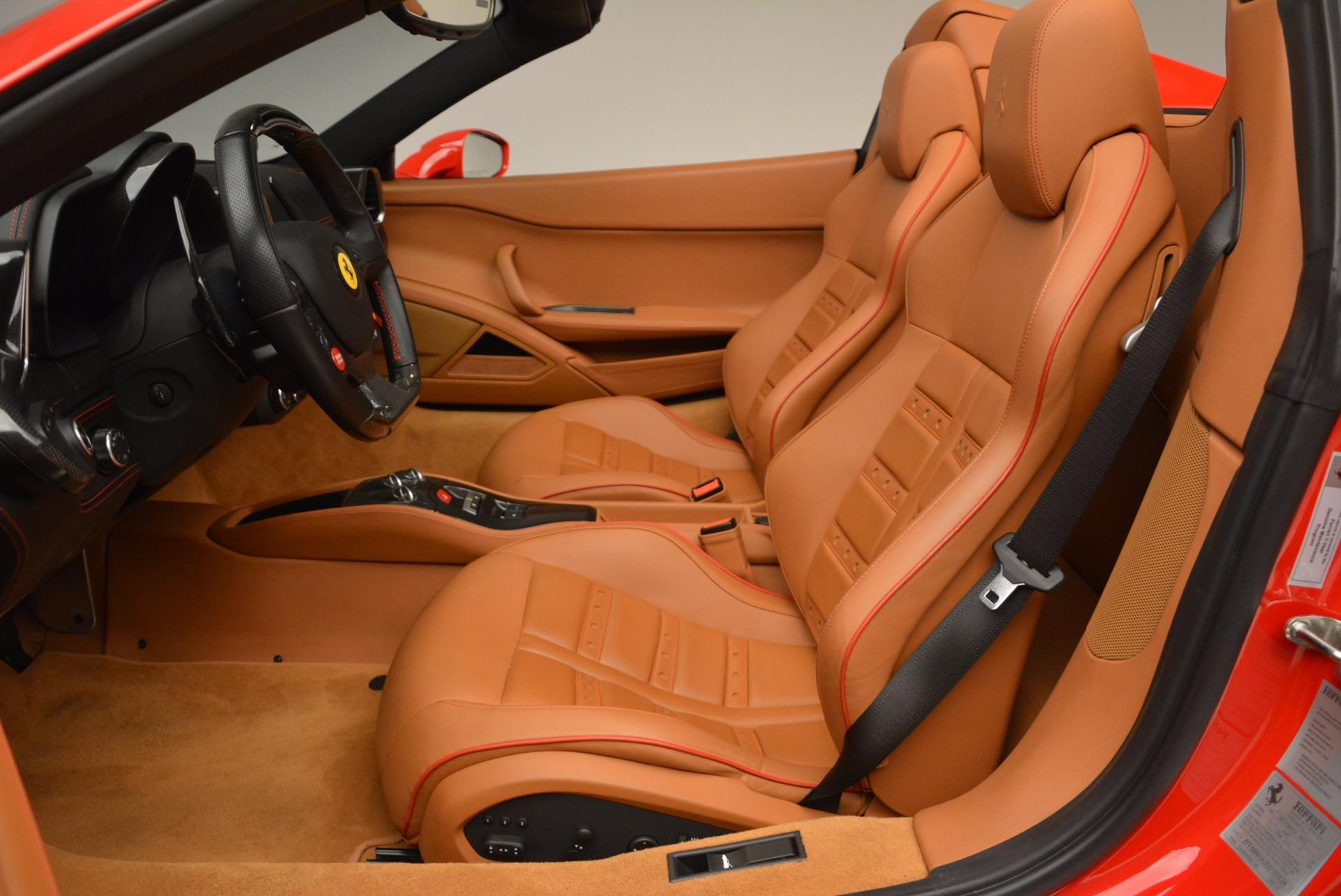 Used 2013 Ferrari 458 Spider  For Sale In Greenwich, CT. Alfa Romeo of Greenwich, 4433 1784_p26