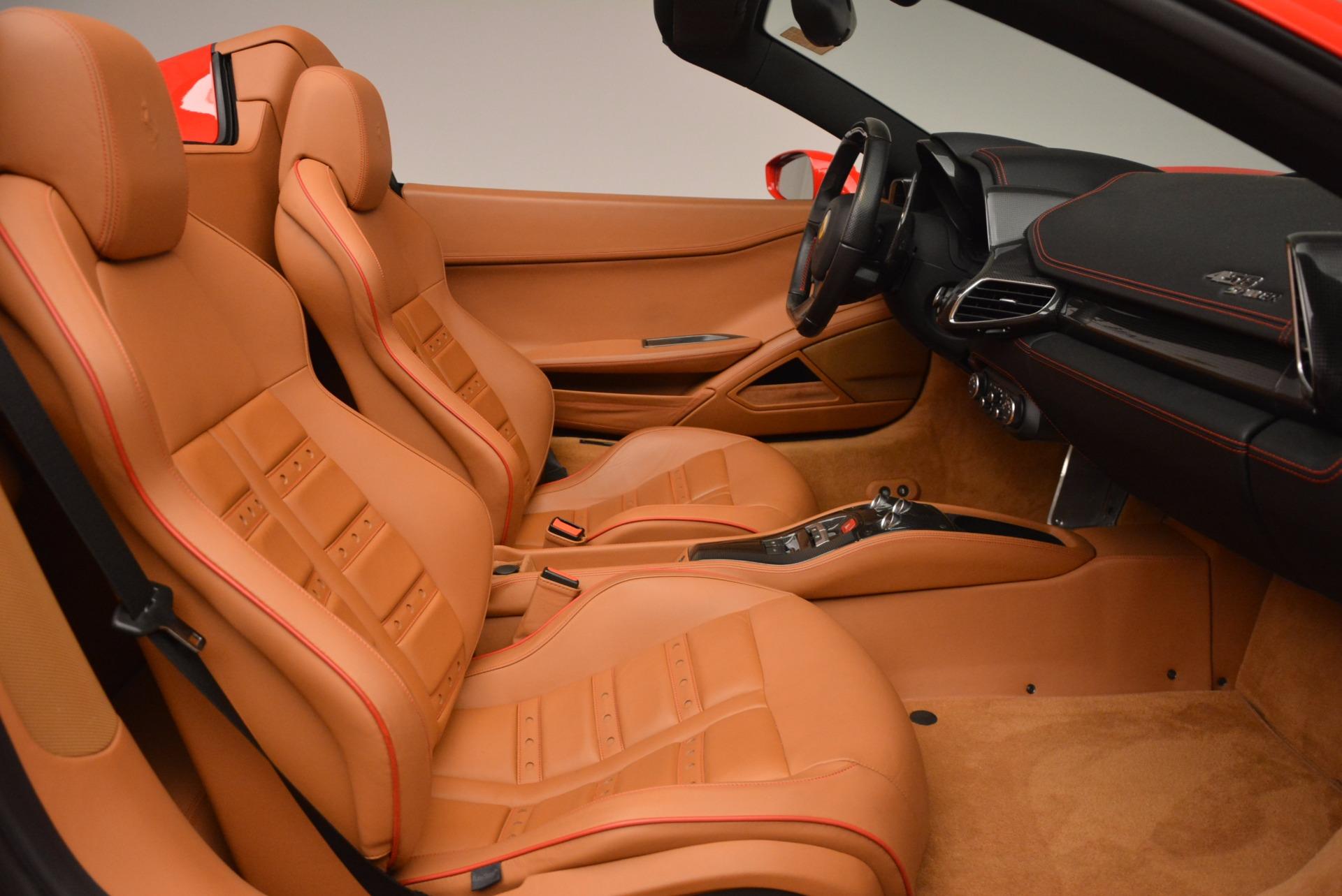 Used 2013 Ferrari 458 Spider  For Sale In Greenwich, CT. Alfa Romeo of Greenwich, 4433 1784_p30