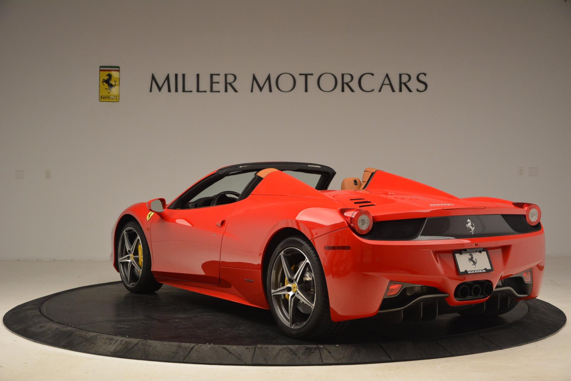 Used 2013 Ferrari 458 Spider  For Sale In Greenwich, CT. Alfa Romeo of Greenwich, 4433 1784_p5