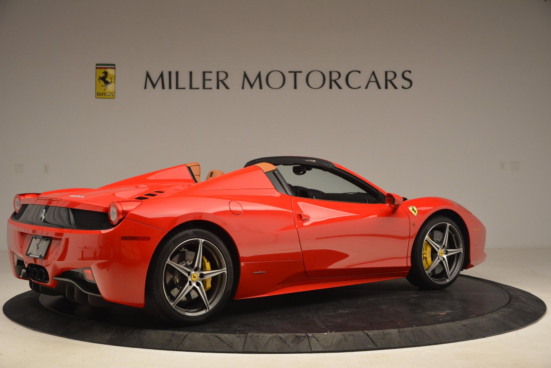 Used 2013 Ferrari 458 Spider  For Sale In Greenwich, CT. Alfa Romeo of Greenwich, 4433 1784_p8